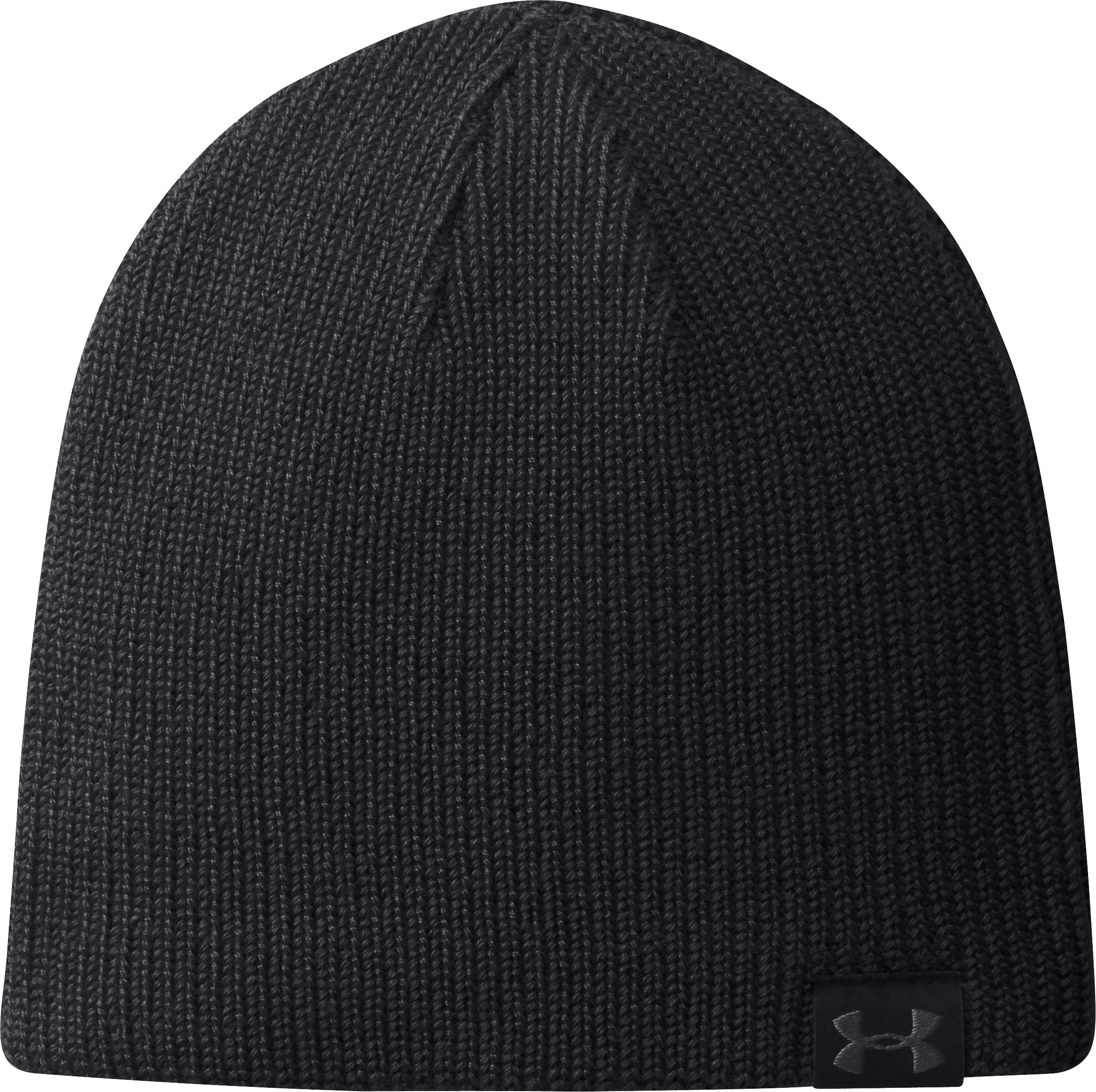Men's UA Basic Beanie, Black , zoomed image