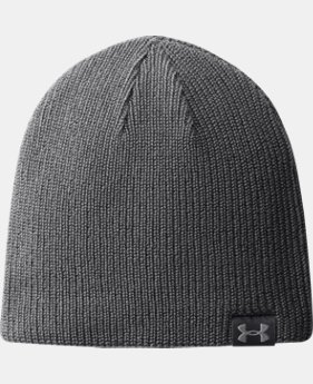 New Arrival Men's UA Basic Beanie  2 Colors $19.99 to $21.99