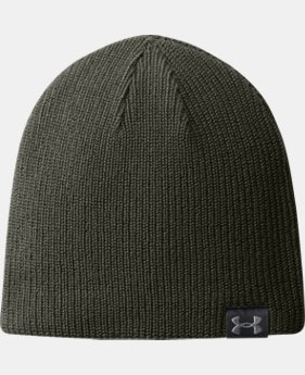 New Arrival Men's UA Basic Beanie  3 Colors $19.99 to $21.99