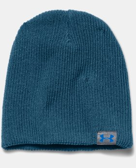 Men's UA Basic Beanie  1 Color $14.99