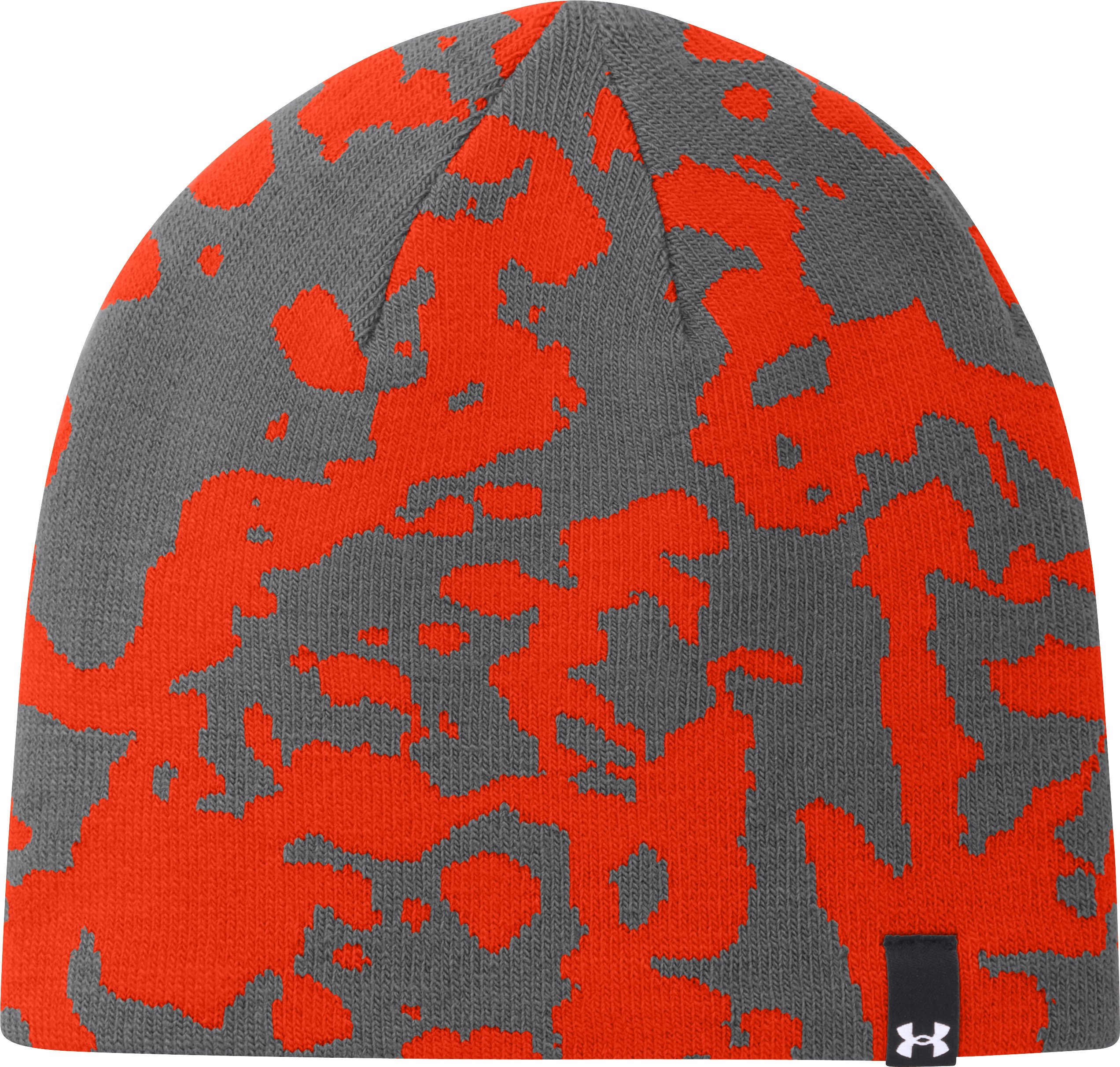 Men's UA Arctic Ridge Beanie, Graphite, zoomed image