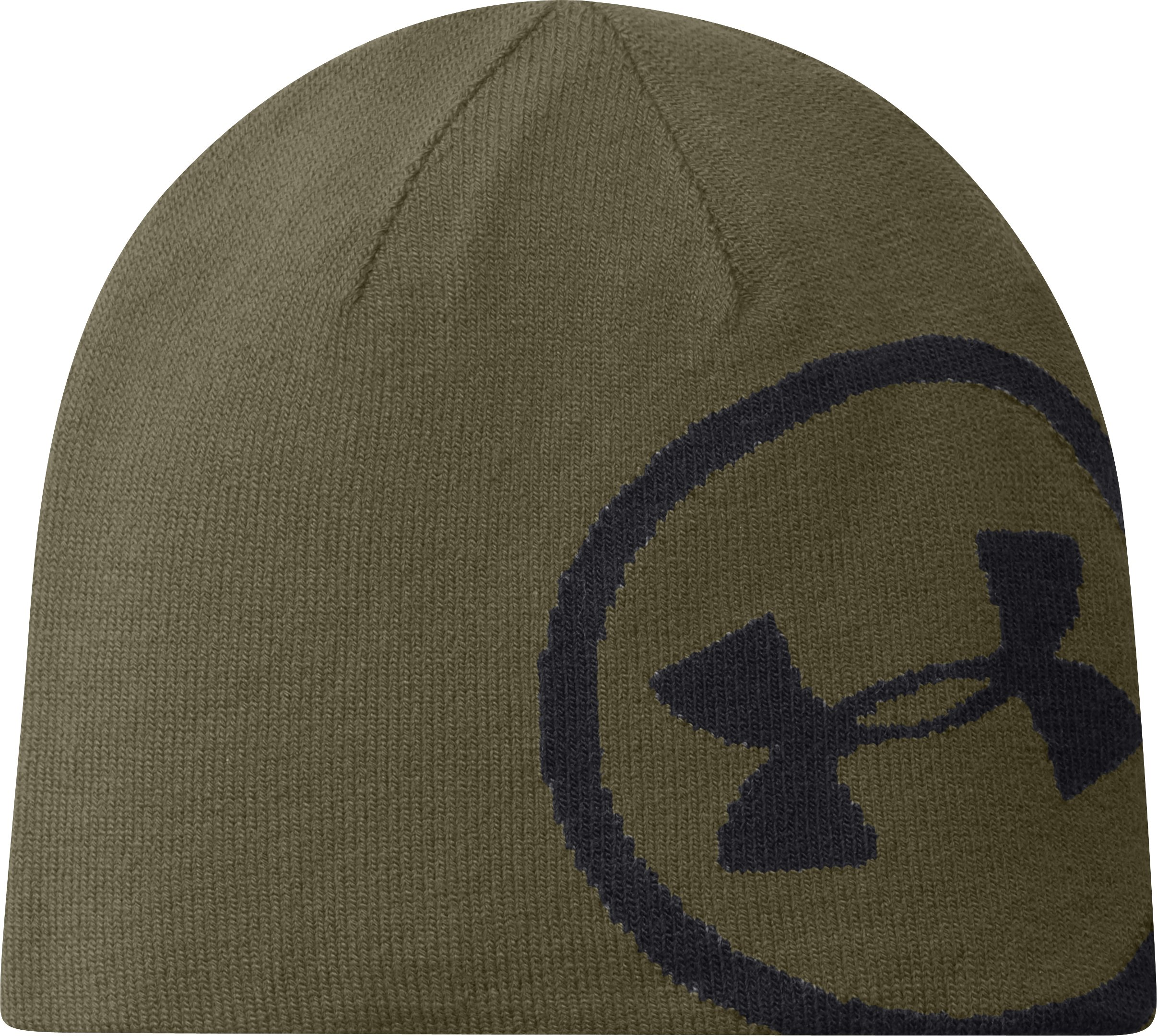 Men's UA Billboard Beanie, DIVER GREEN