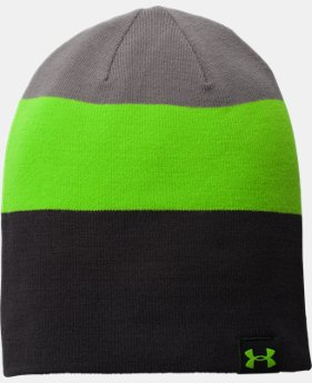 Men's UA 4-in-1 Stripe Beanie  1 Color $22.99
