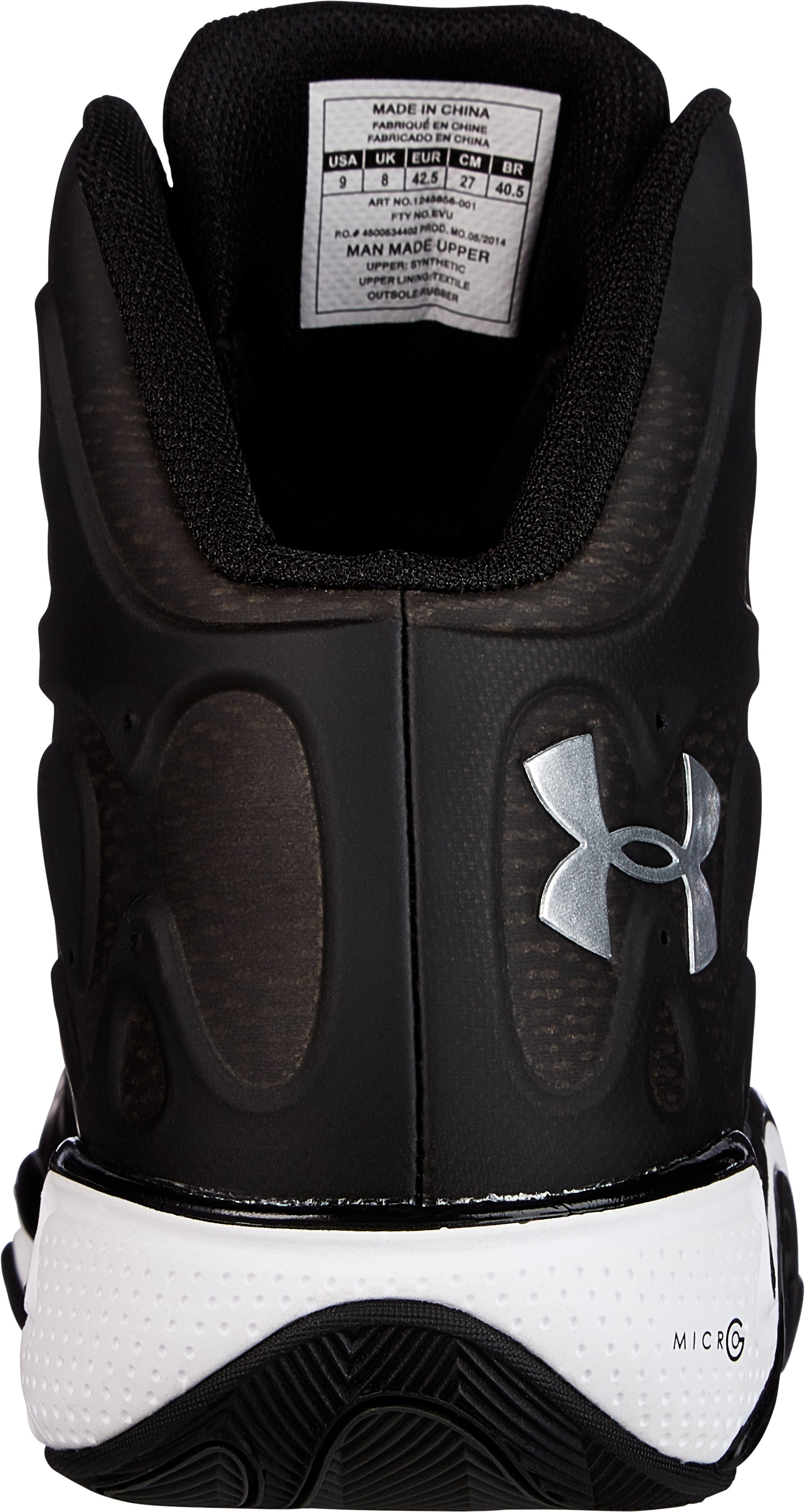 Men's UA Micro G® Anatomix Spawn 2 Basketball Shoes, Black
