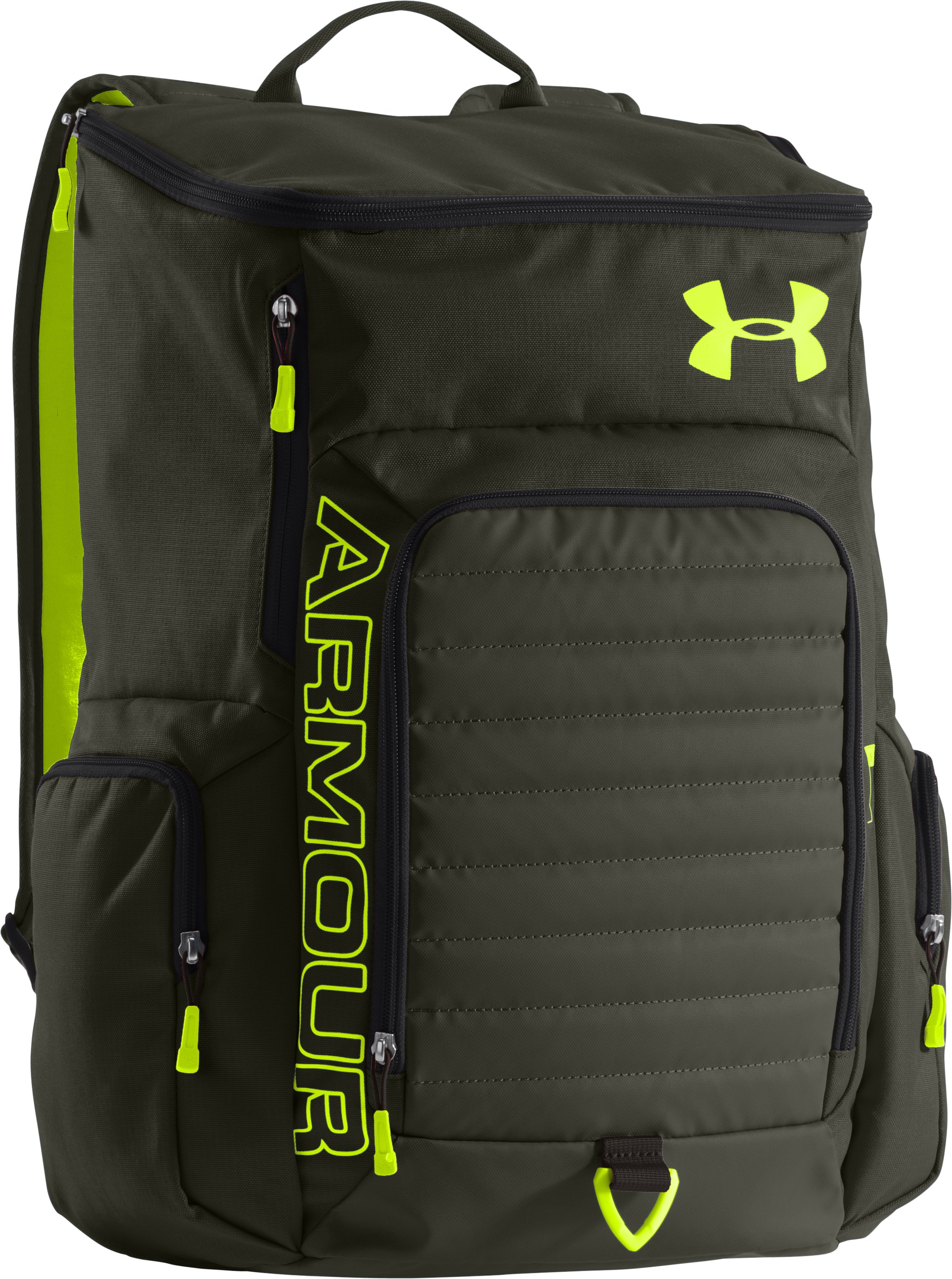 UA VX2-Undeniable Backpack, Rifle Green, zoomed image