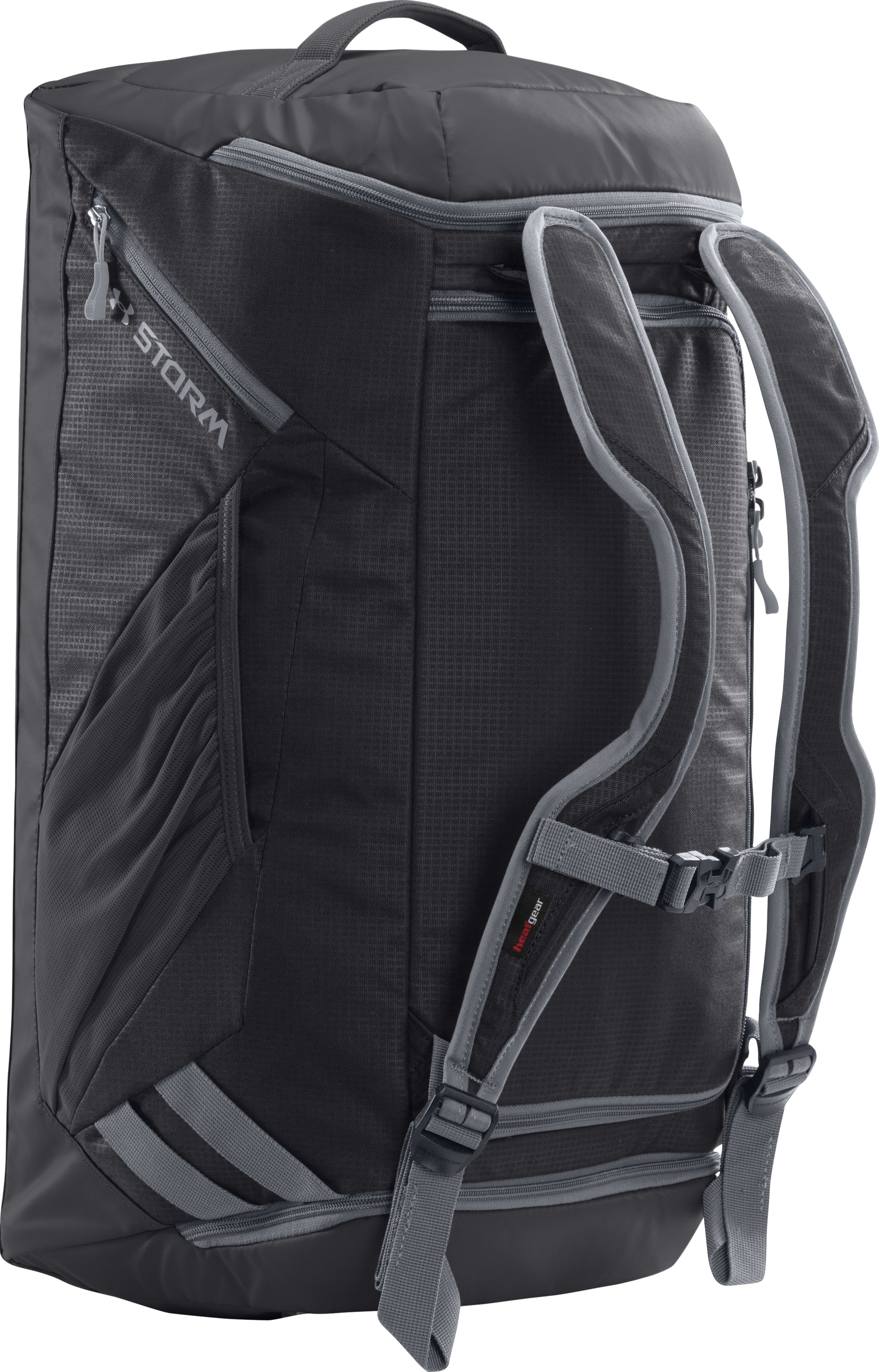 UA Storm Contain Backpack Duffle, Black , zoomed image