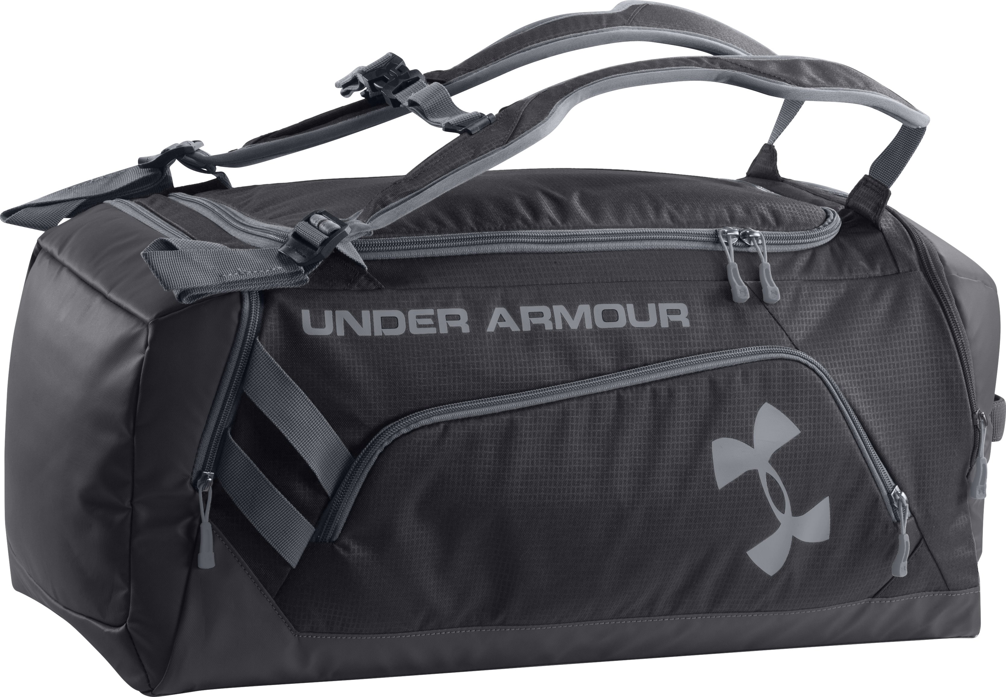 UA Storm Contain Backpack Duffle, Black