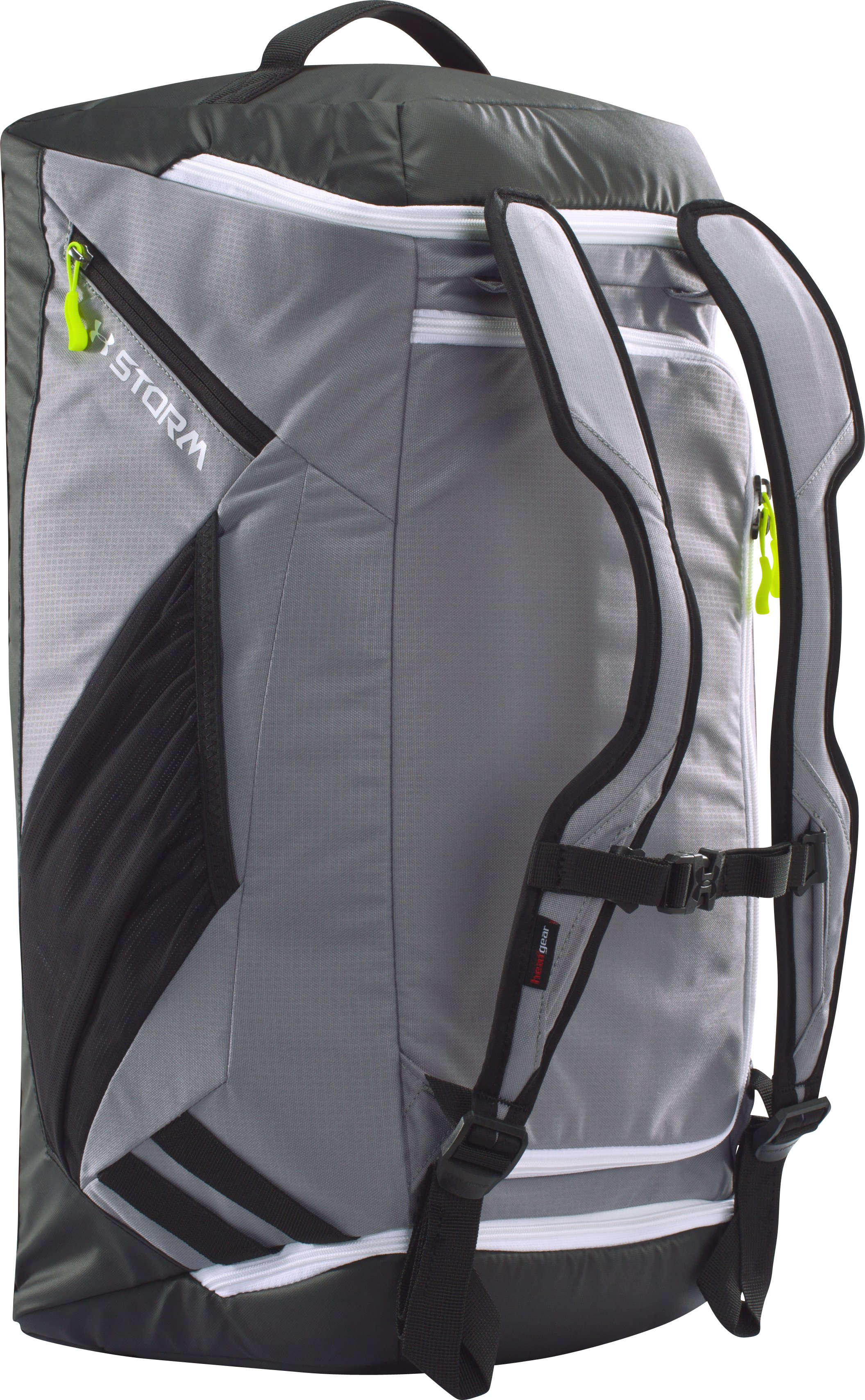 UA Storm Contain Backpack Duffle, Steel