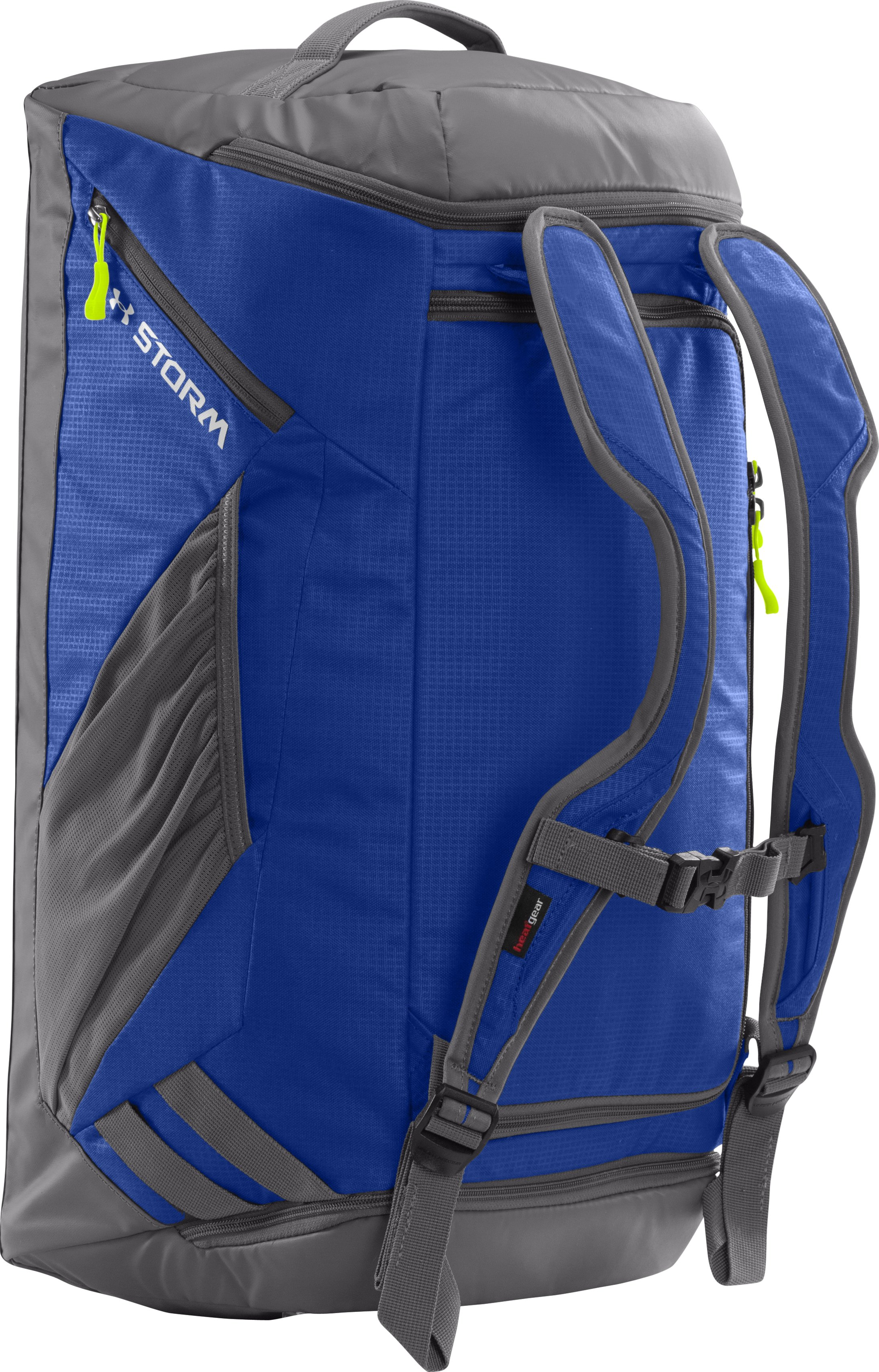 UA Storm Contain Backpack Duffle, Royal, zoomed image