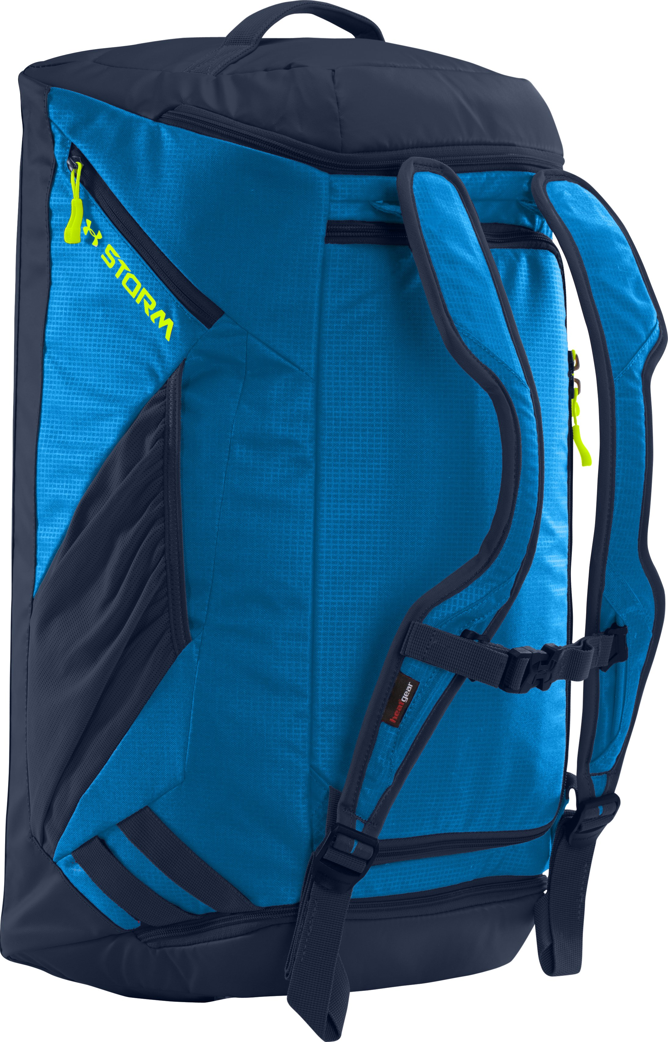 UA Storm Contain Backpack Duffle, ELECTRIC BLUE, zoomed image