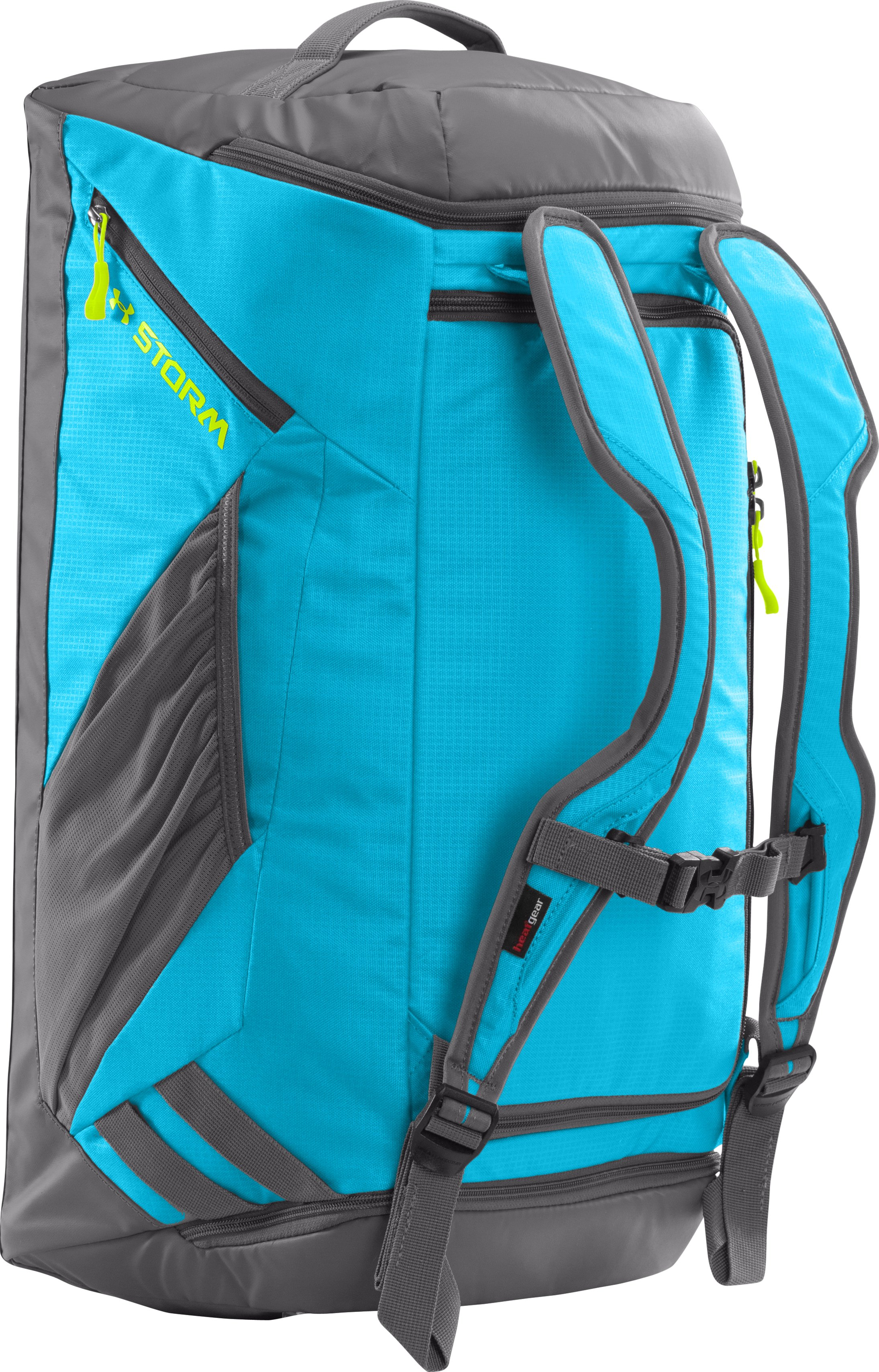 UA Storm Contain Backpack Duffle, ALPINE