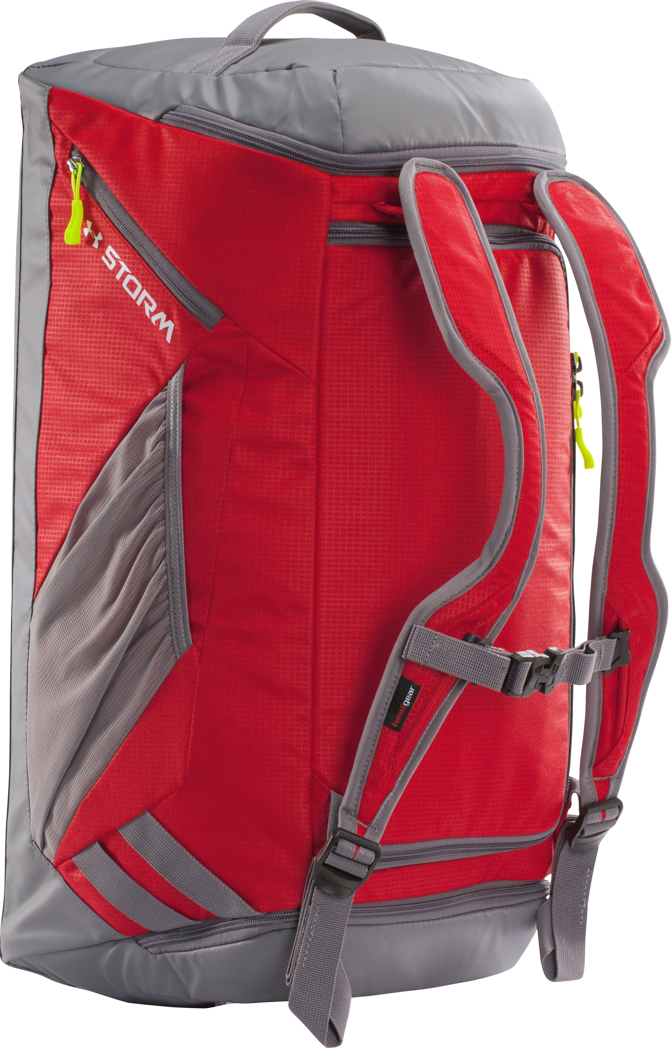 UA Storm Contain Backpack Duffle, Red