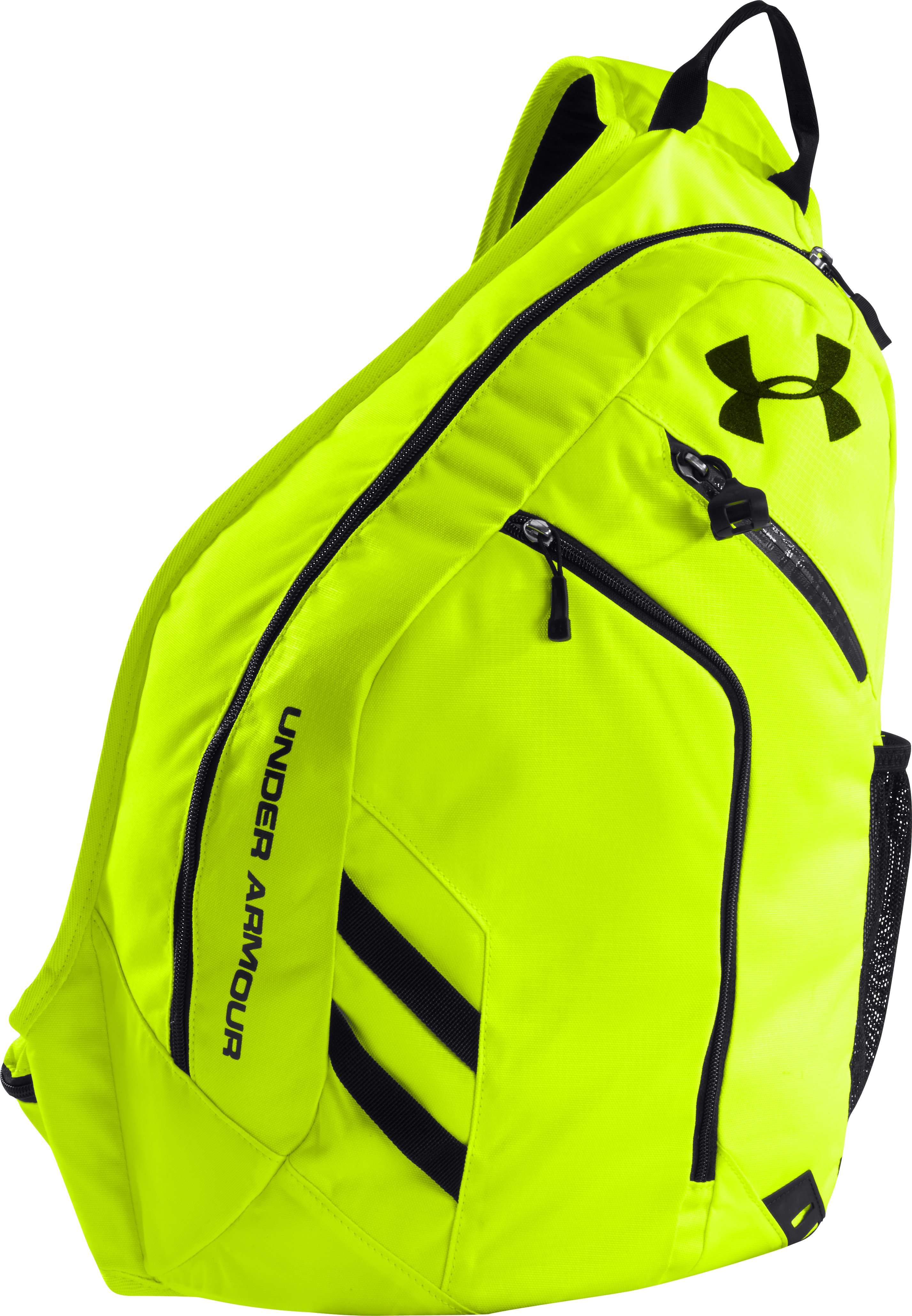 UA Storm Compel Sling Pack, High-Vis Yellow, undefined