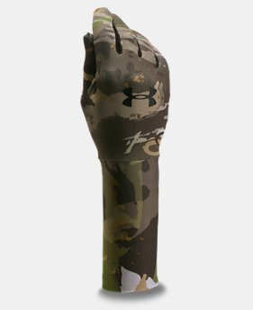 Boys' UA ColdGear® Camo Liner Gloves LIMITED TIME OFFER 1 Color $20.99