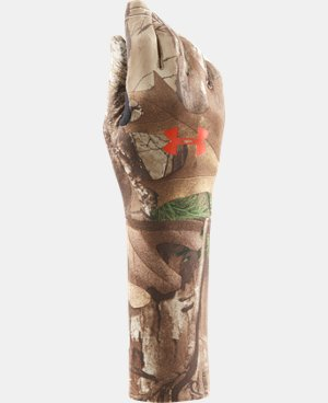 Boys' UA ColdGear® Camo Liner Gloves LIMITED TIME: FREE U.S. SHIPPING 1 Color $15.74