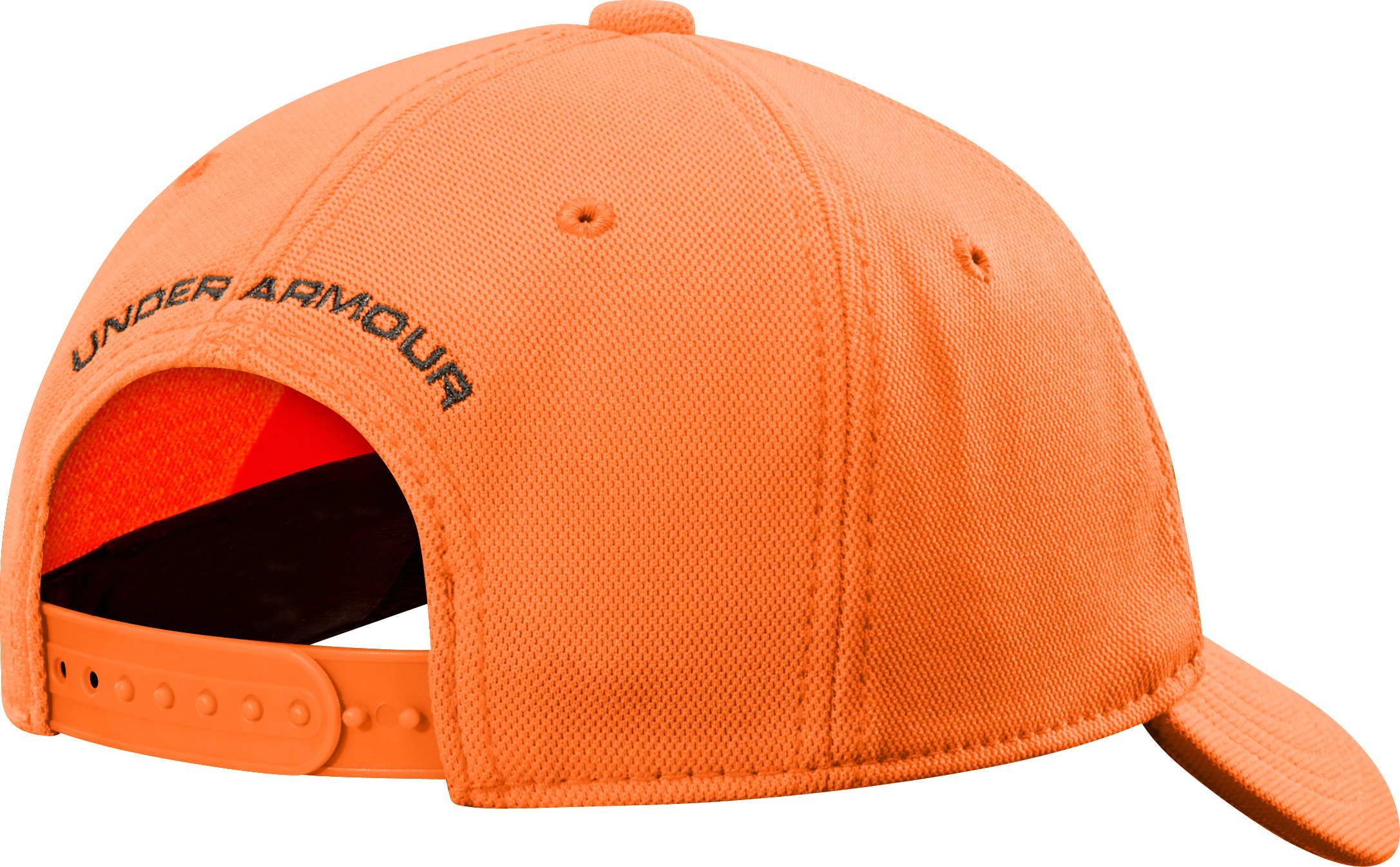 Boys' UA Antler Logo Cap, Blaze Orange, undefined