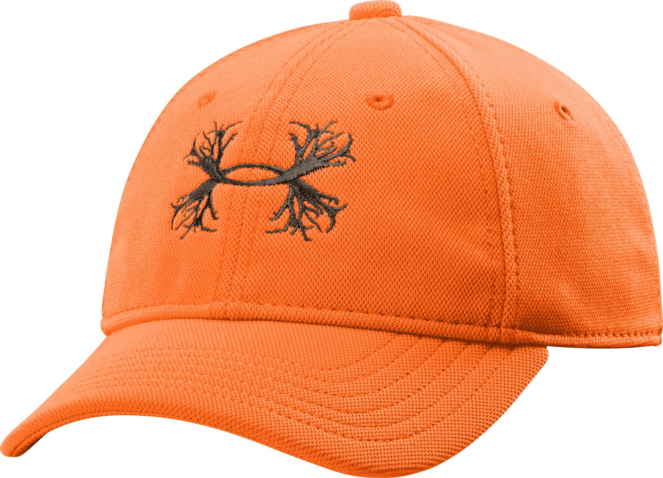 Boys' UA Antler Logo Cap, Blaze Orange