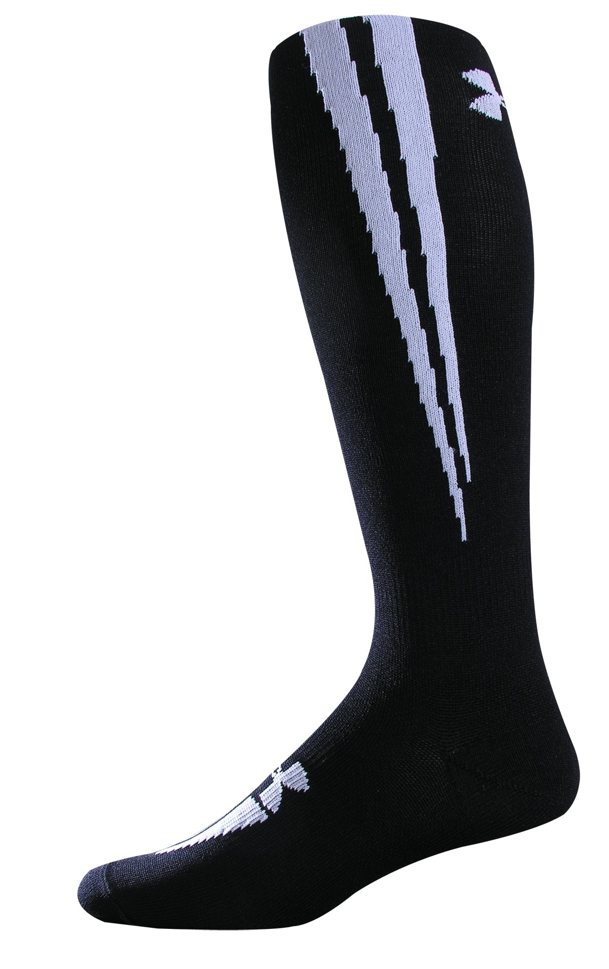 UA Ignite OTC Soccer Socks, Black , zoomed image