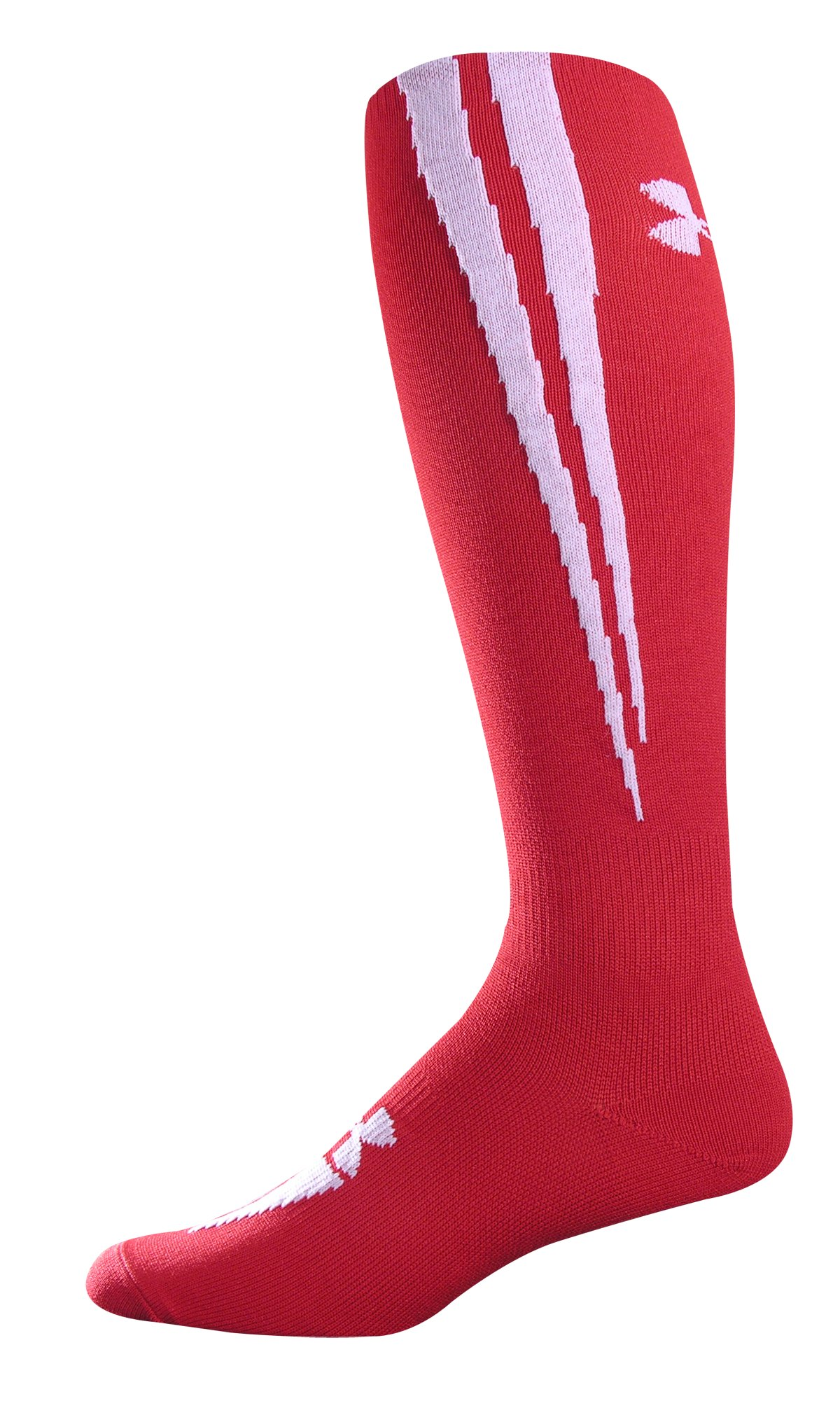 UA Ignite OTC Soccer Socks, Red, undefined