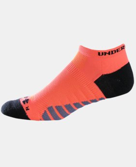 UA Selective Cushion No Show Socks