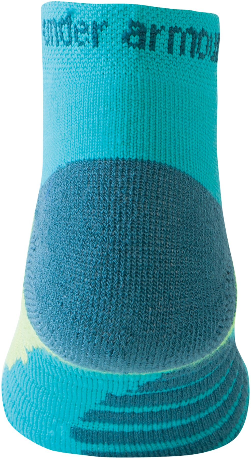 Women's UA Selective Cushion Run Socks, AQUEDUCT