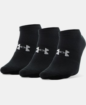 Best Seller Men's UA HeatGear® SoLo Socks – 3-Pack  2 Colors $14.99