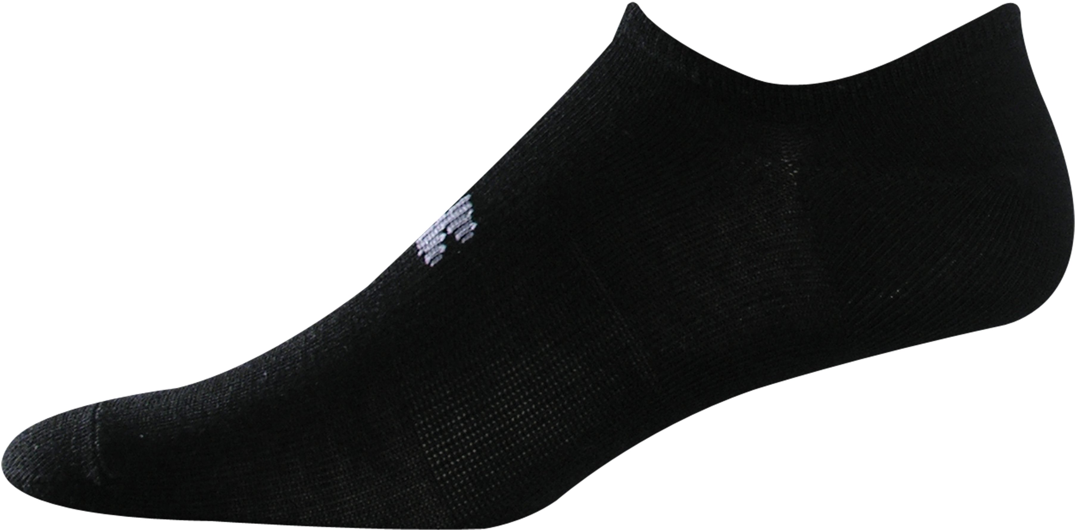 Kids' UA HeatGear® SoLo Socks 3-Pack, Black