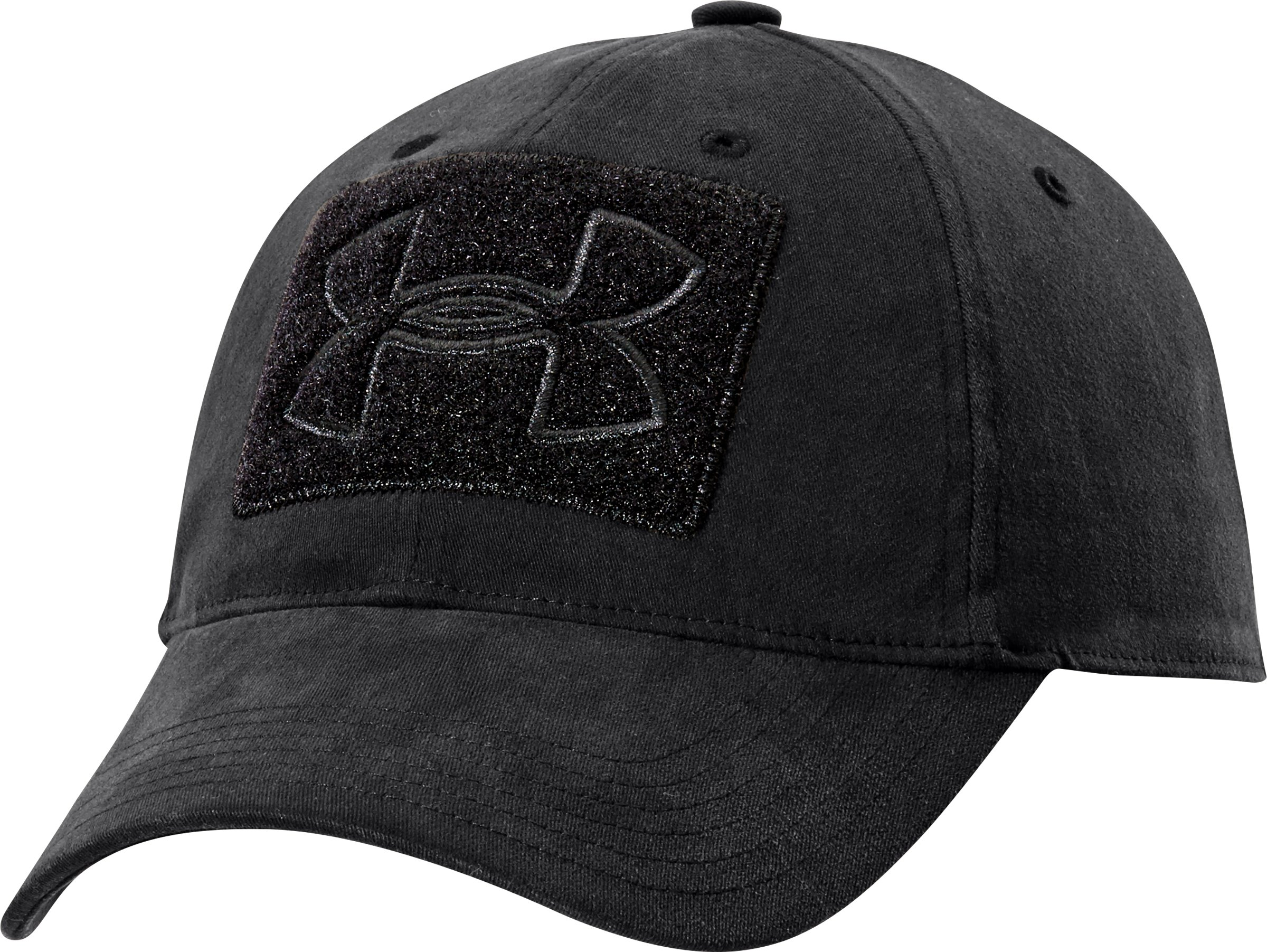 Men's UA Tactical Patch Cap, Black , zoomed image