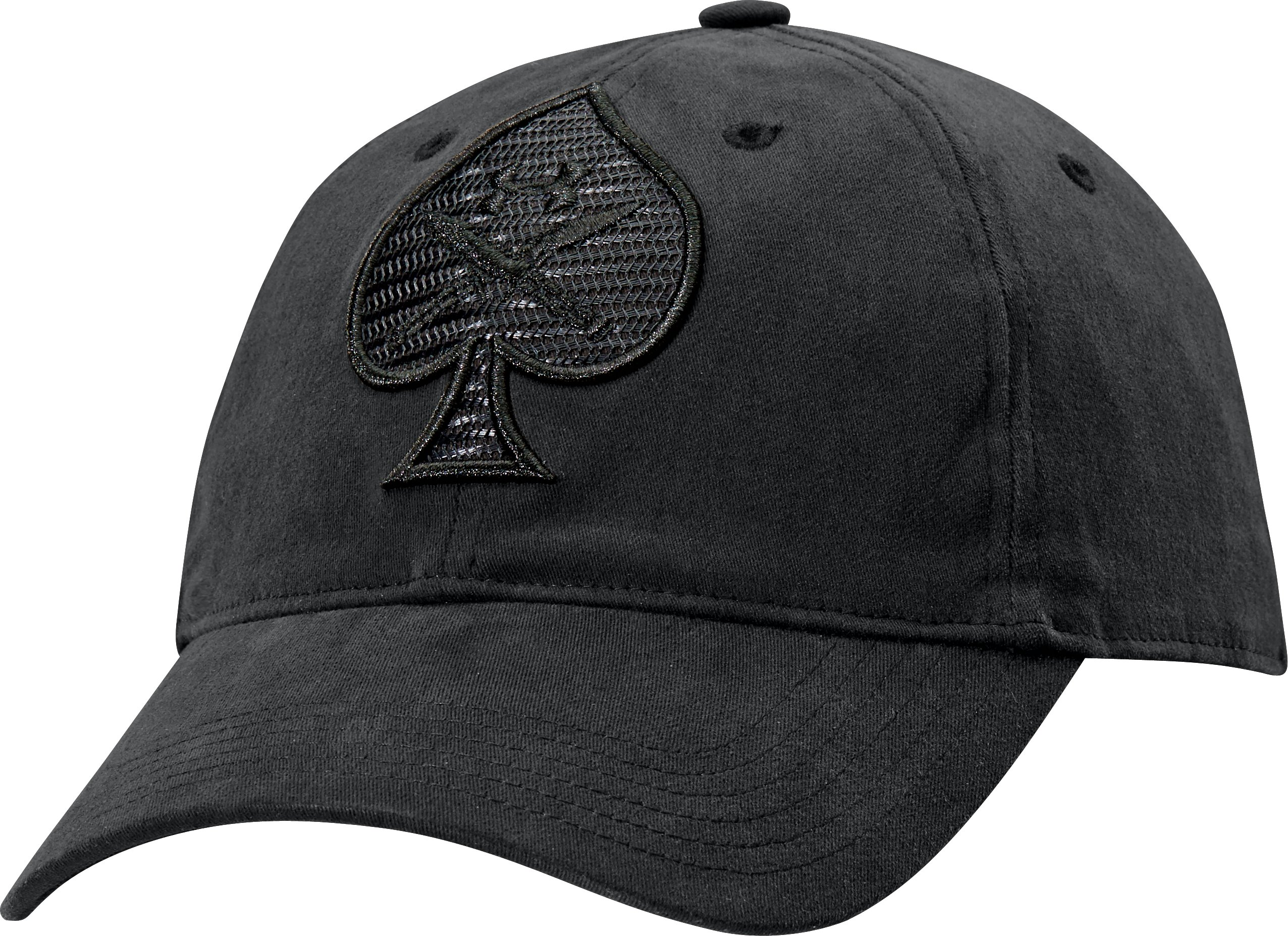 Men's UA Tactical Spade Cap, Black , zoomed image