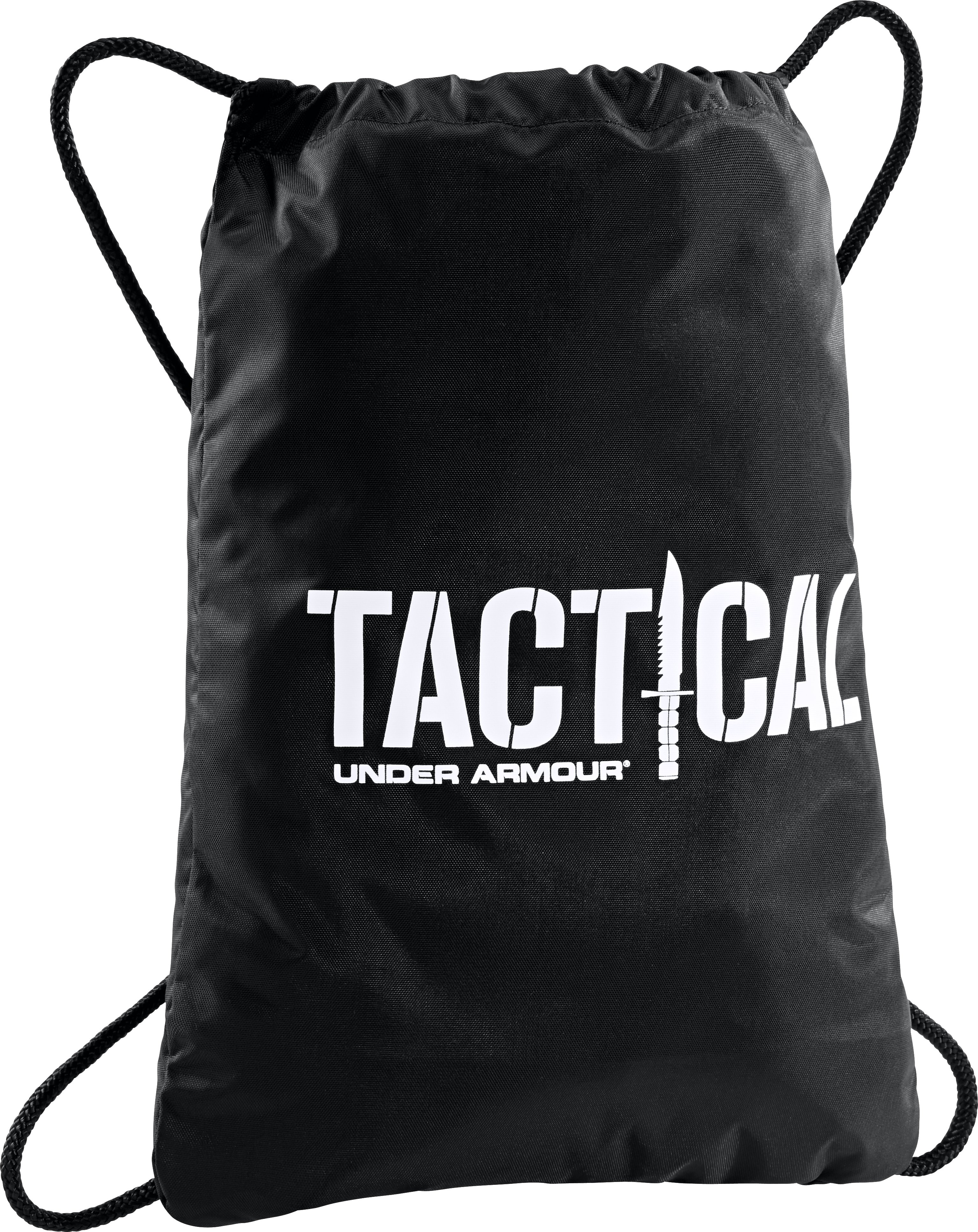UA Tactical Sackpack, Black , zoomed image