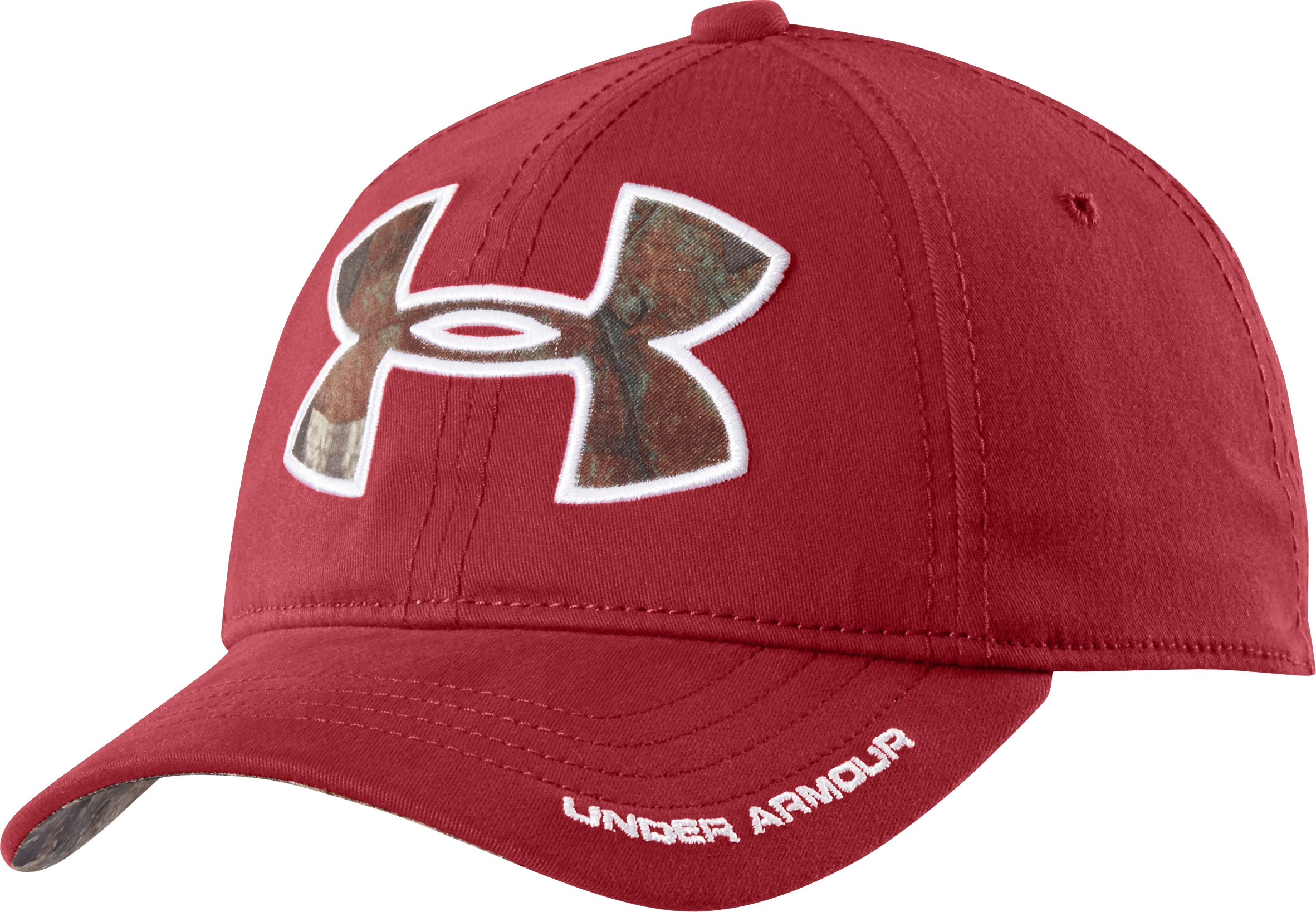 Men's UA Caliber Cap, DAREDEVIL RED, undefined