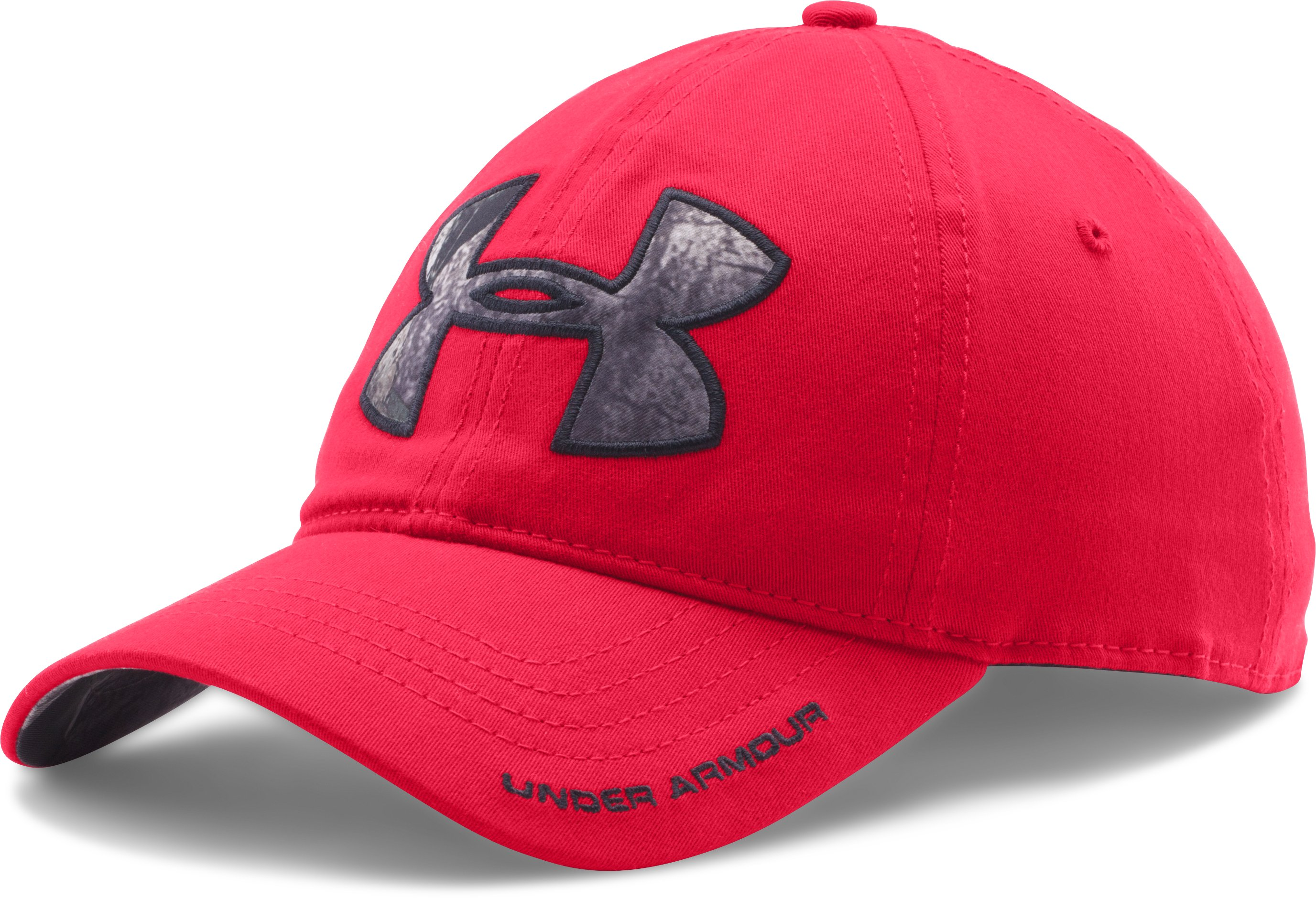 Men's UA Caliber Cap, Red, zoomed image