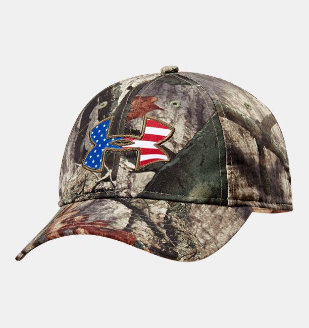 a2e138a4 ... new zealand mens ua big logo americana camo cap under armour us f25fe  3e18f