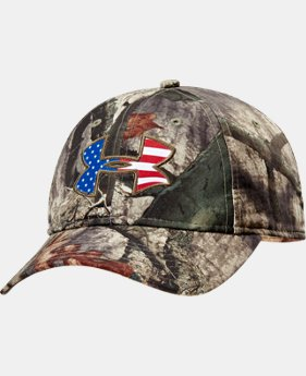 Men's UA Big Logo Americana Camo Cap  2 Colors $24.99