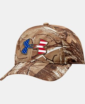 Men's UA Big Logo Americana Camo Cap LIMITED TIME: FREE U.S. SHIPPING 1 Color $14.24