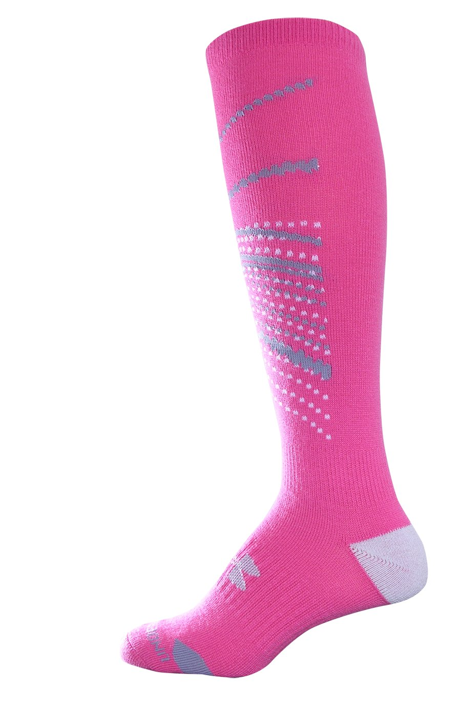 Women's UA Space Snowboard Socks, Lollipop, undefined