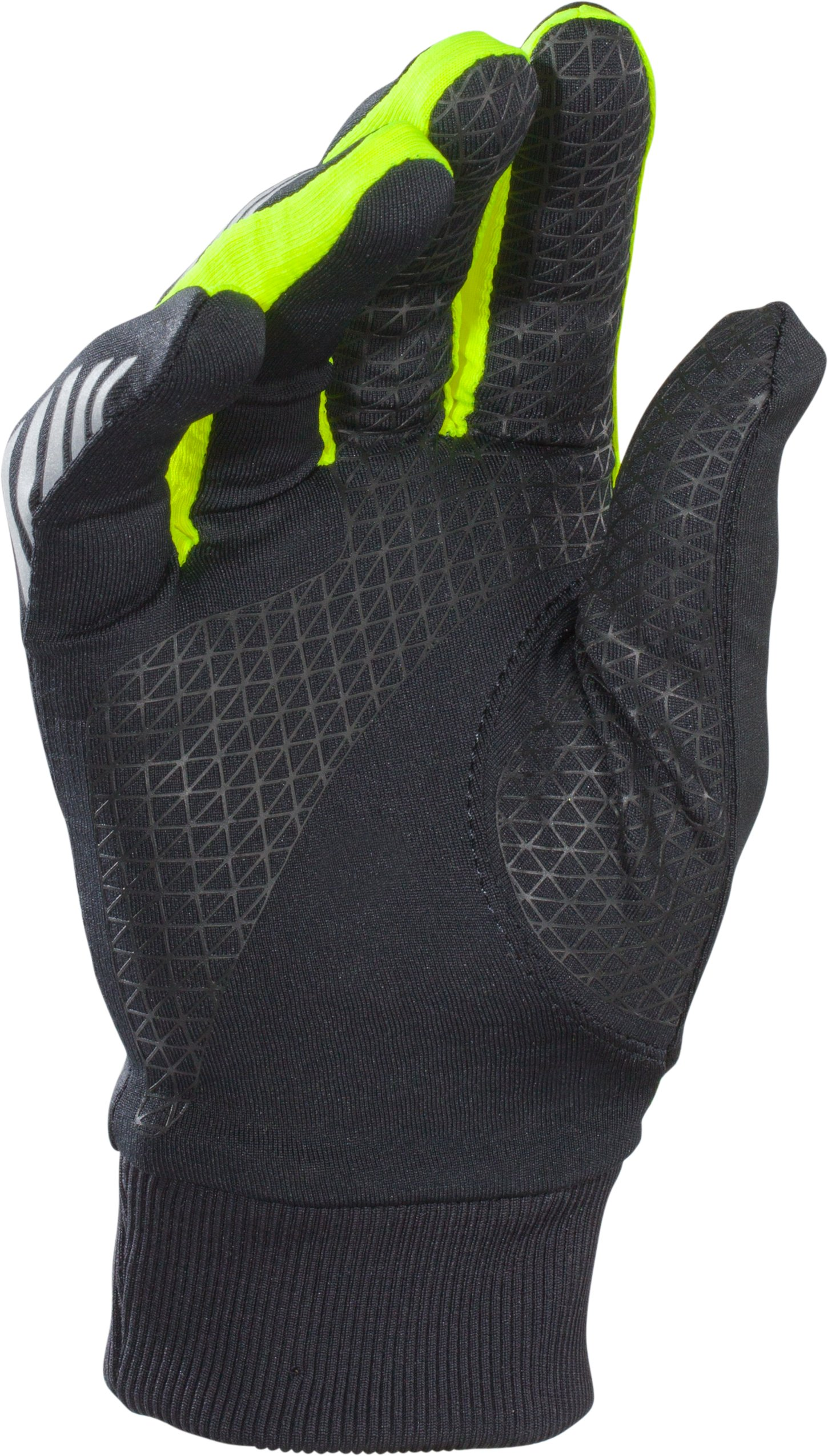 Men's UA ColdGear® Infrared Engage Run Gloves, Black ,