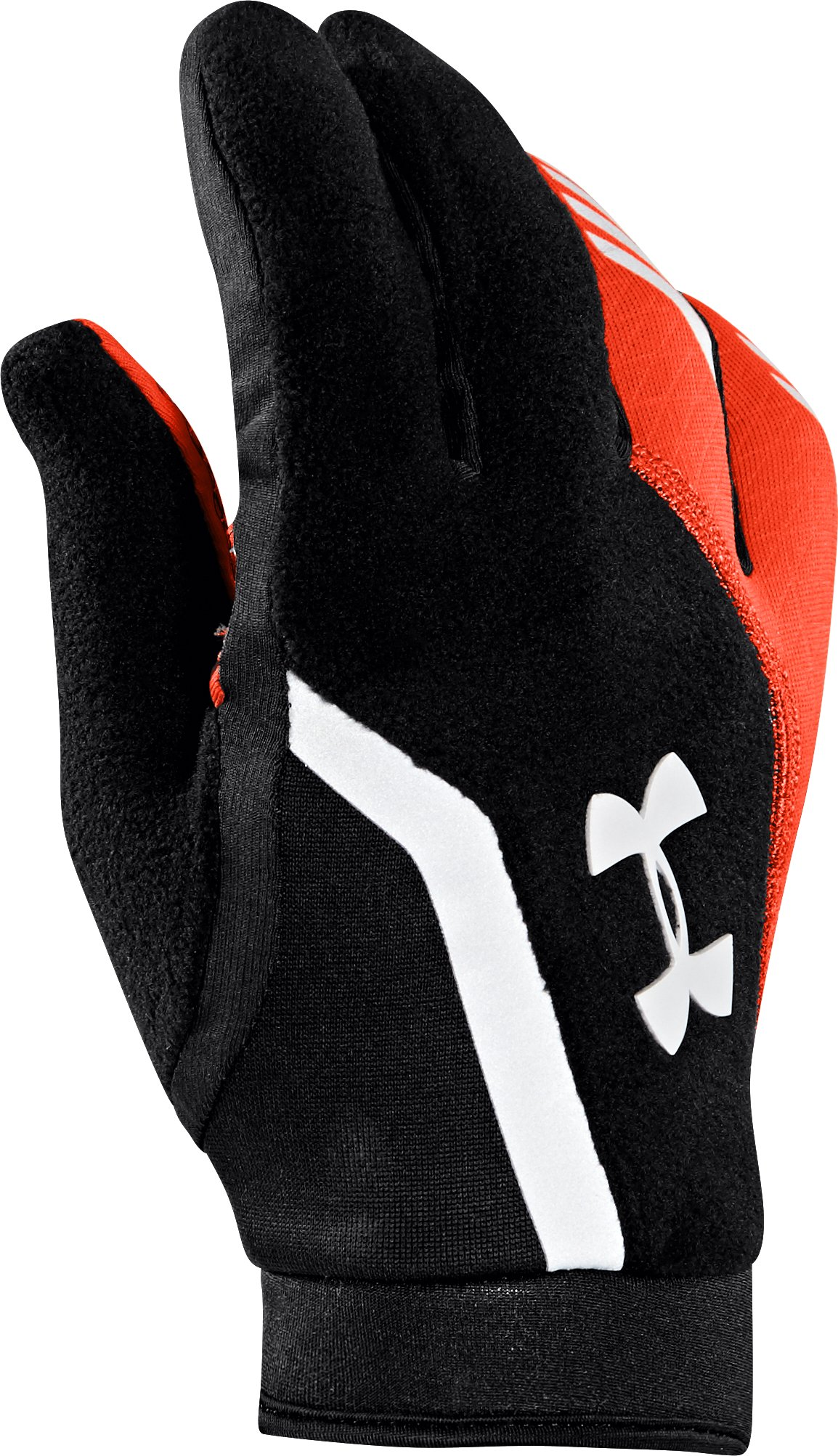 Men's UA ColdGear® Infrared Escape Run Gloves, Black , zoomed image