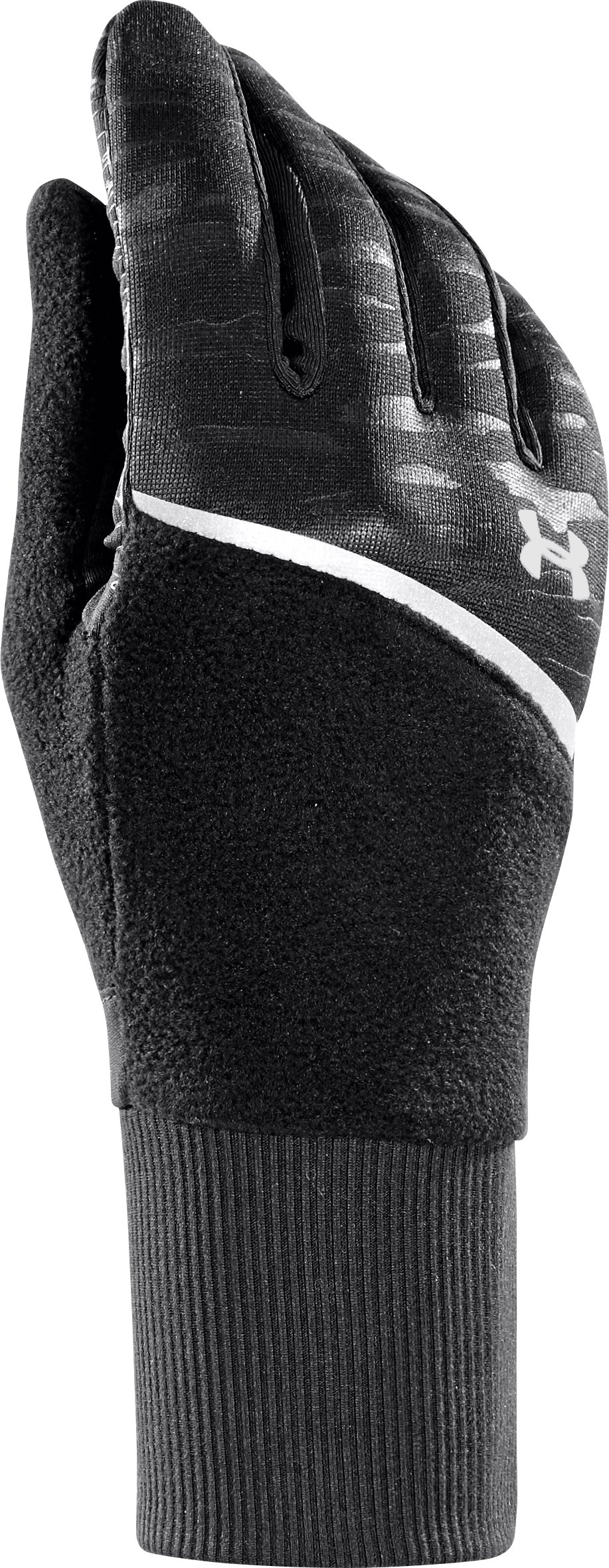 Women's UA See Me Go Running Glove, Black , zoomed image