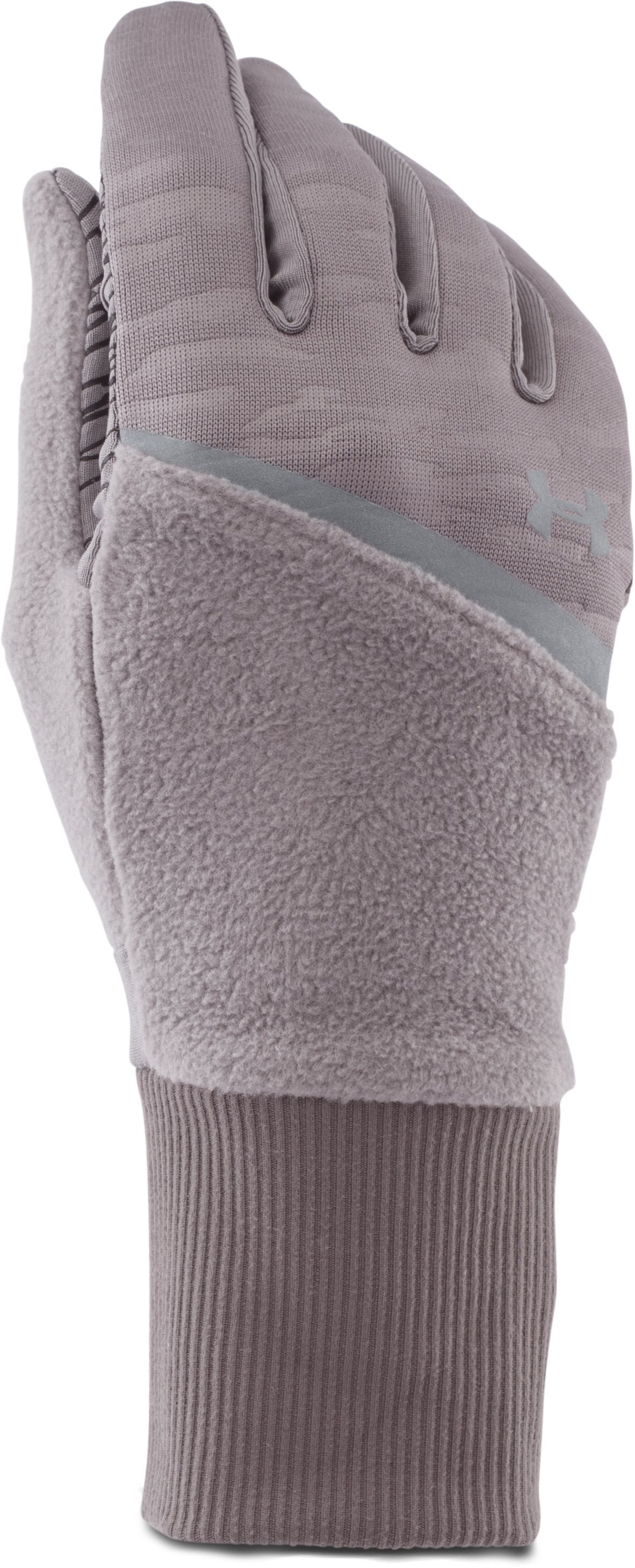 Women's UA See Me Go Running Glove, STEEPLE GRAY