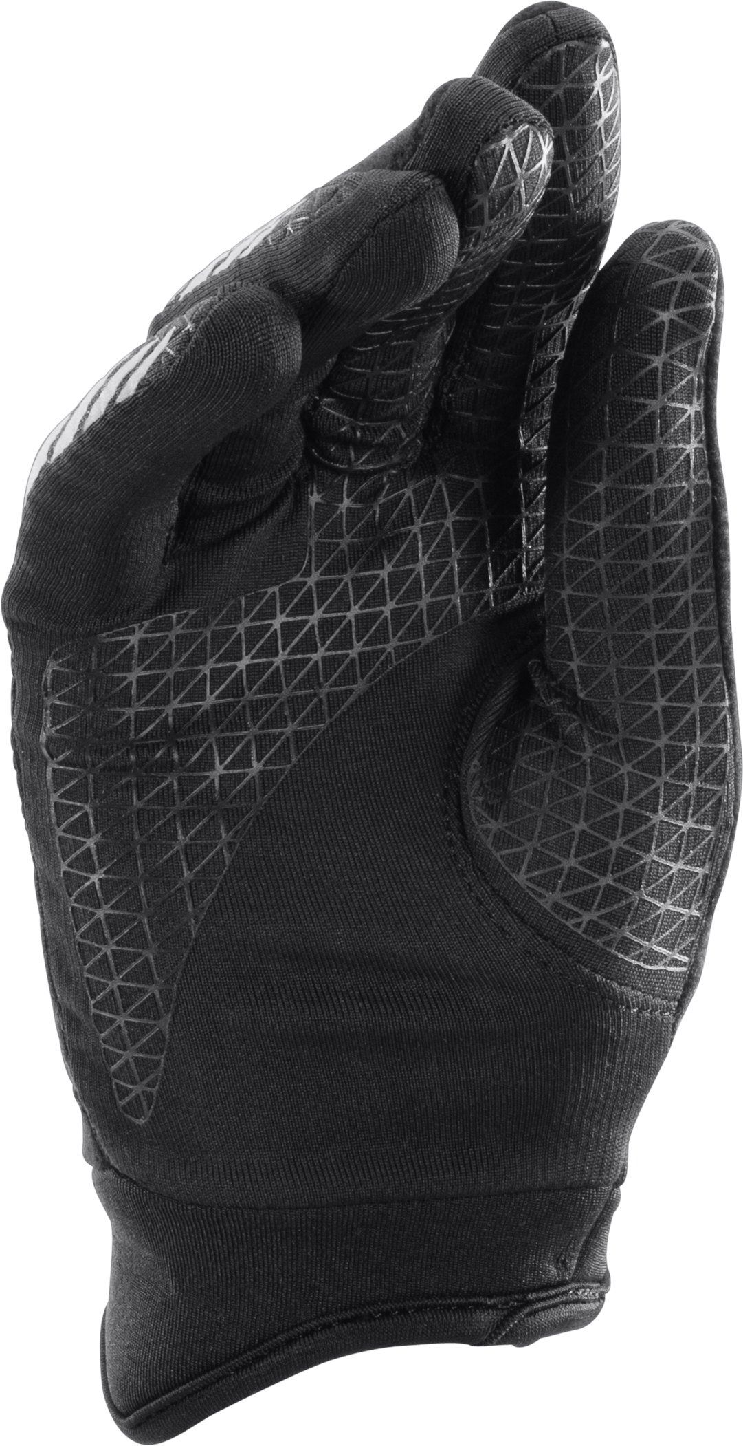 Boys' UA ColdGear® Infrared Escape Run Gloves, Black