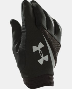Men's UA ColdGear® Infrared Storm Strive Run Gloves