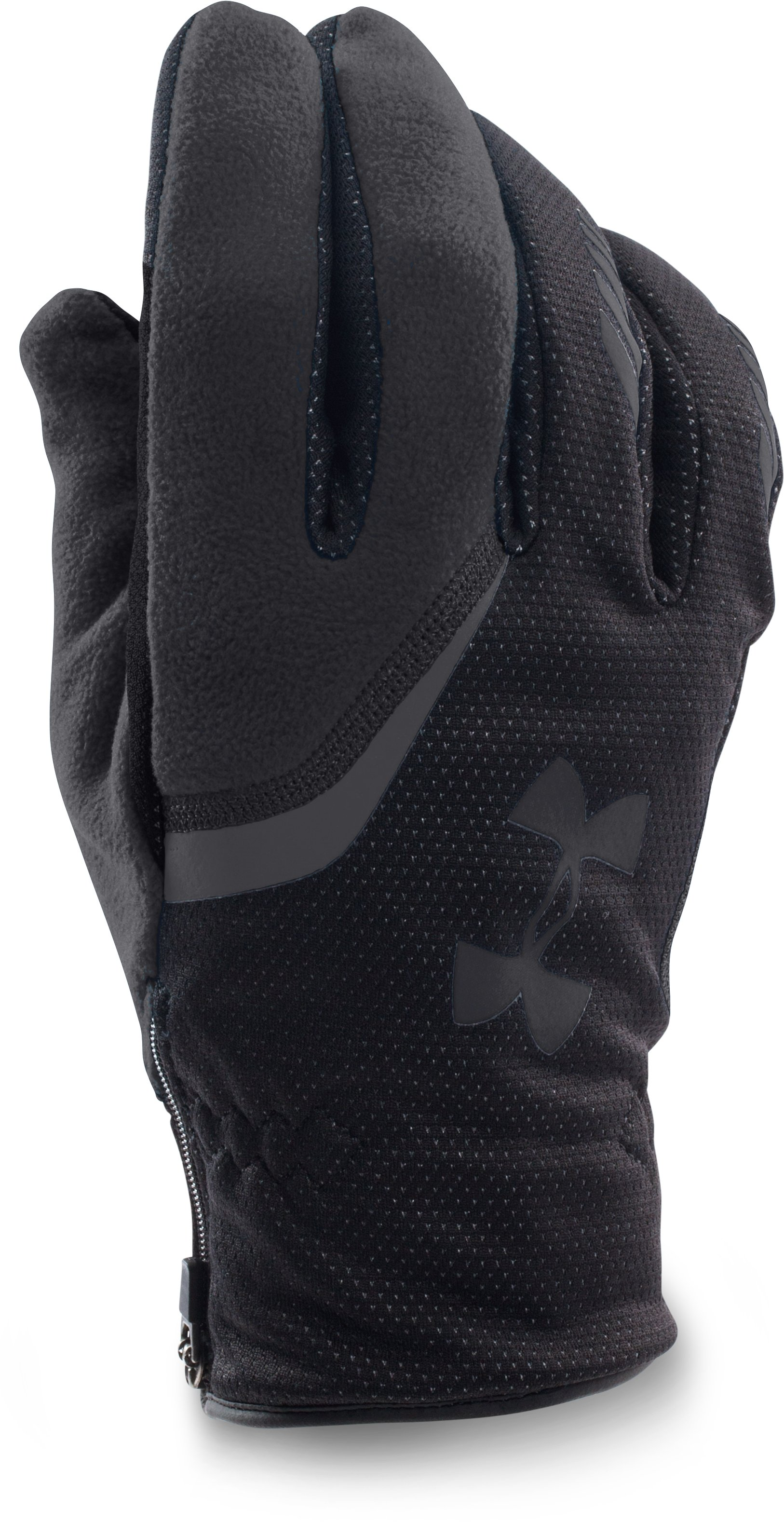 UA Storm ColdGear® Infrared Extreme Run Gloves, Black , zoomed image