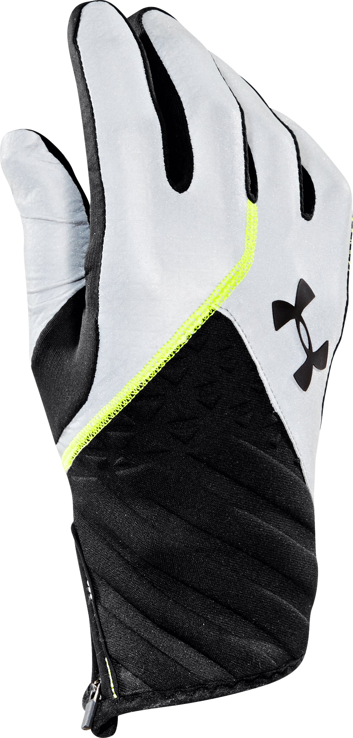 Men's UA ColdGear® Infrared Reflective Run Gloves, Reflective, undefined