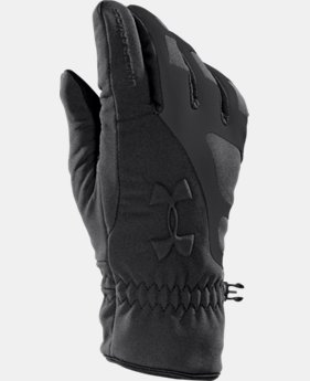 Men's UA ColdGear® Infrared Storm Stealth Gloves