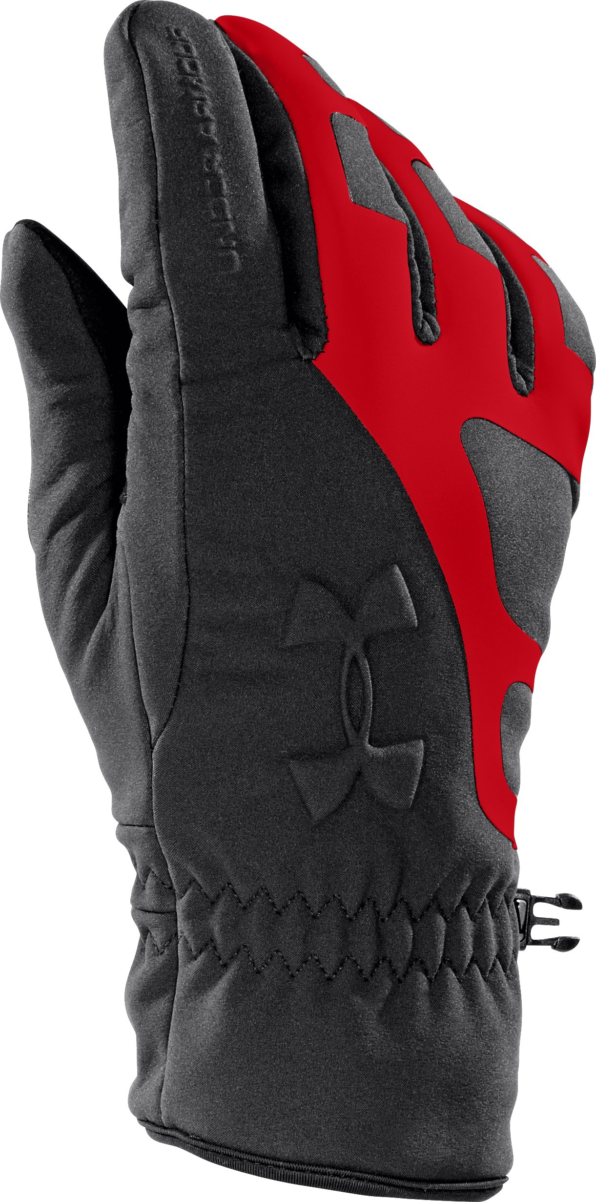 Men's UA ColdGear® Infrared Storm Stealth Gloves, Black ,