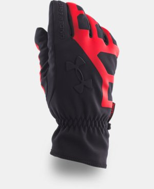 Men's UA ColdGear® Infrared Storm Stealth Gloves LIMITED TIME: FREE U.S. SHIPPING 1 Color $49.99