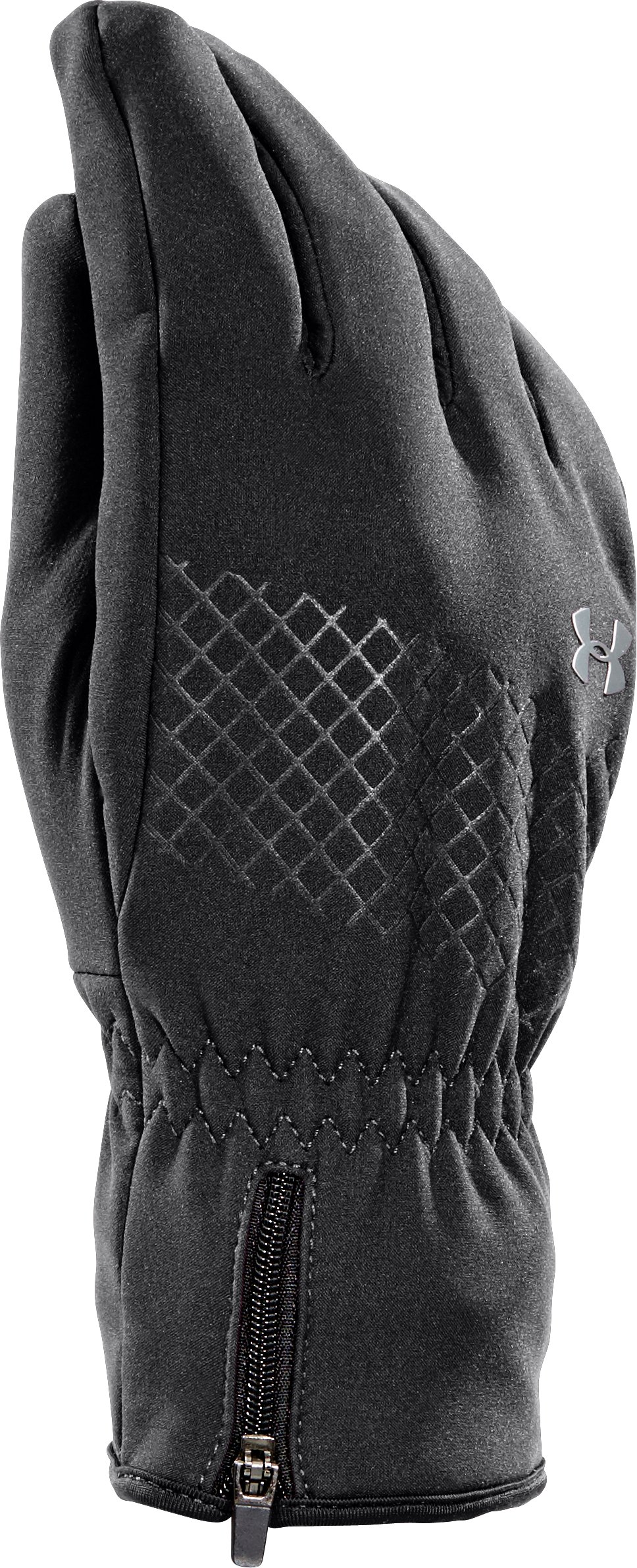 Women's  UA Storm ColdGear Infrared® Stealth Glove, Black
