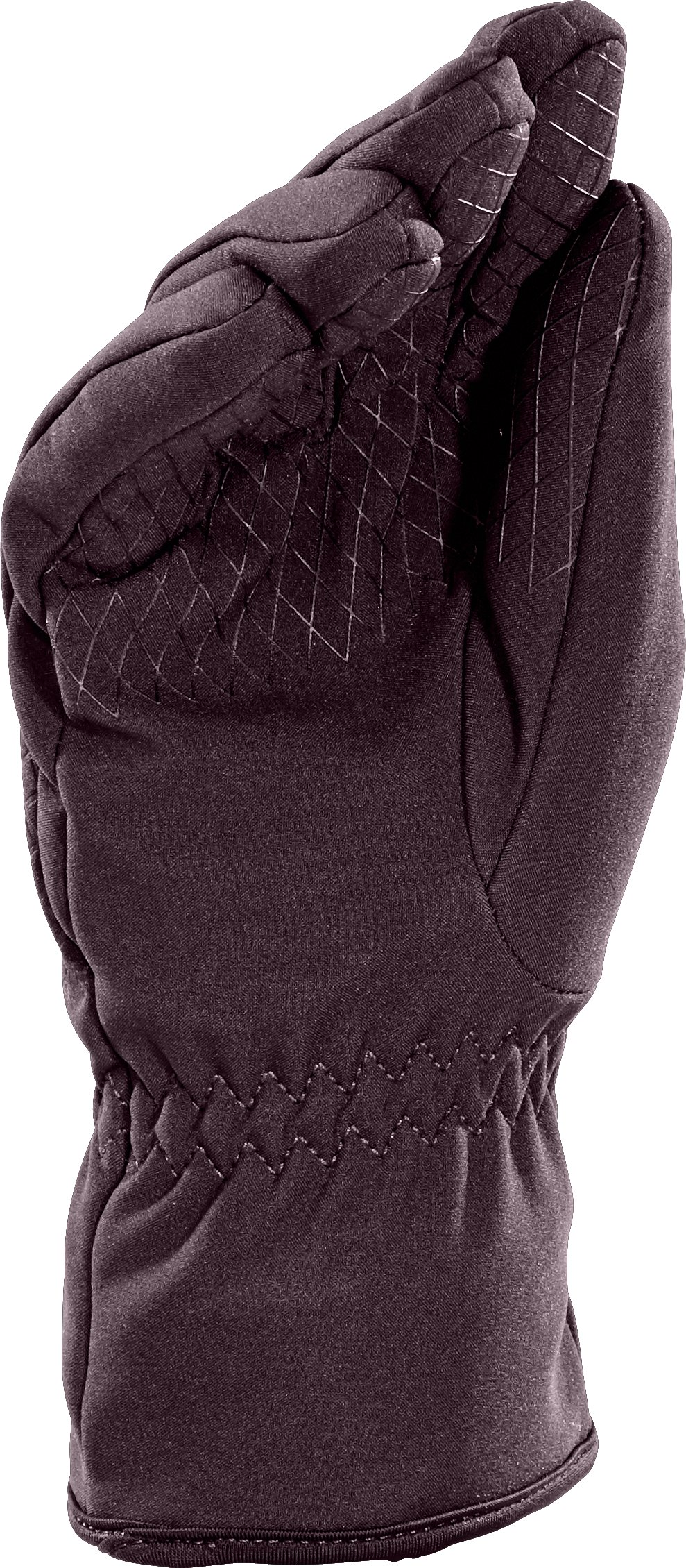 Women's UA Storm ColdGear® Infrared Stealth Glove, VELVET PLUM