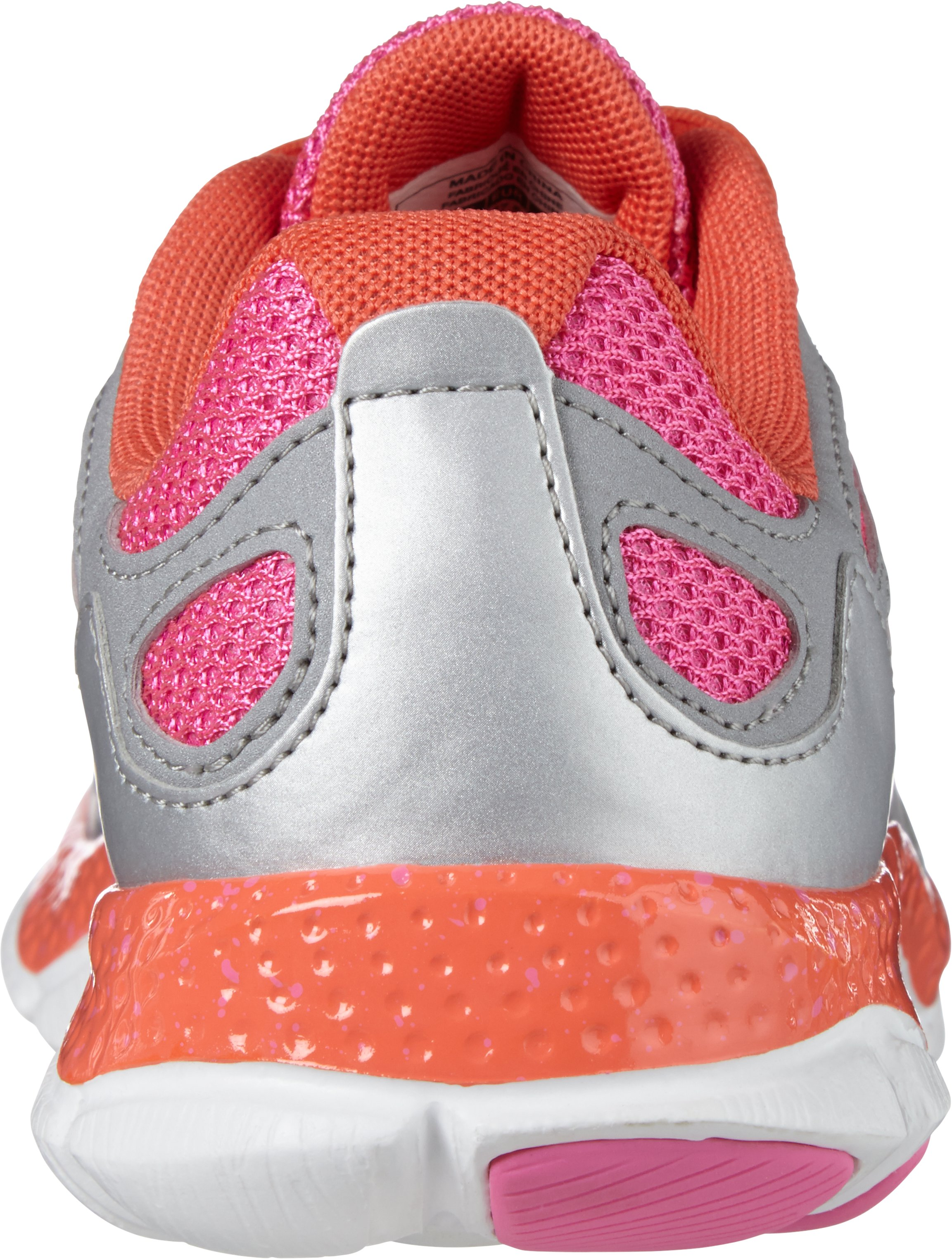 Girls' Grade School UA Micro G® Engage, Metallic Silver